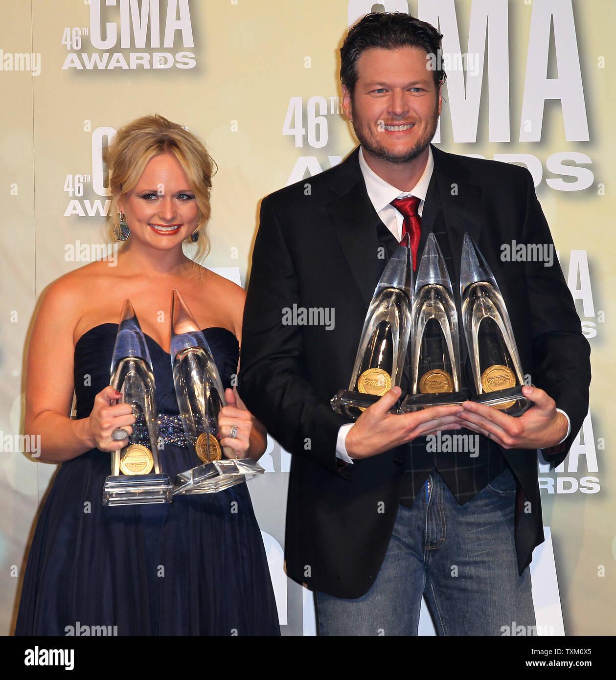 Miranda Lambert, winner of Female Vocalist of the Year and
