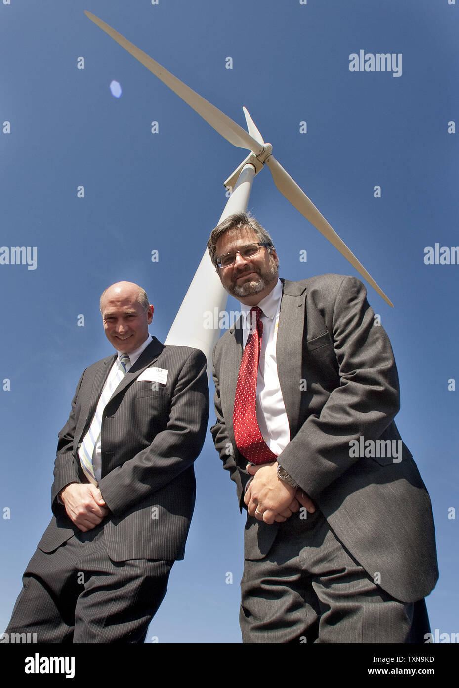 General Electric (ge) Wind Turbine Stock Photos & General Electric
