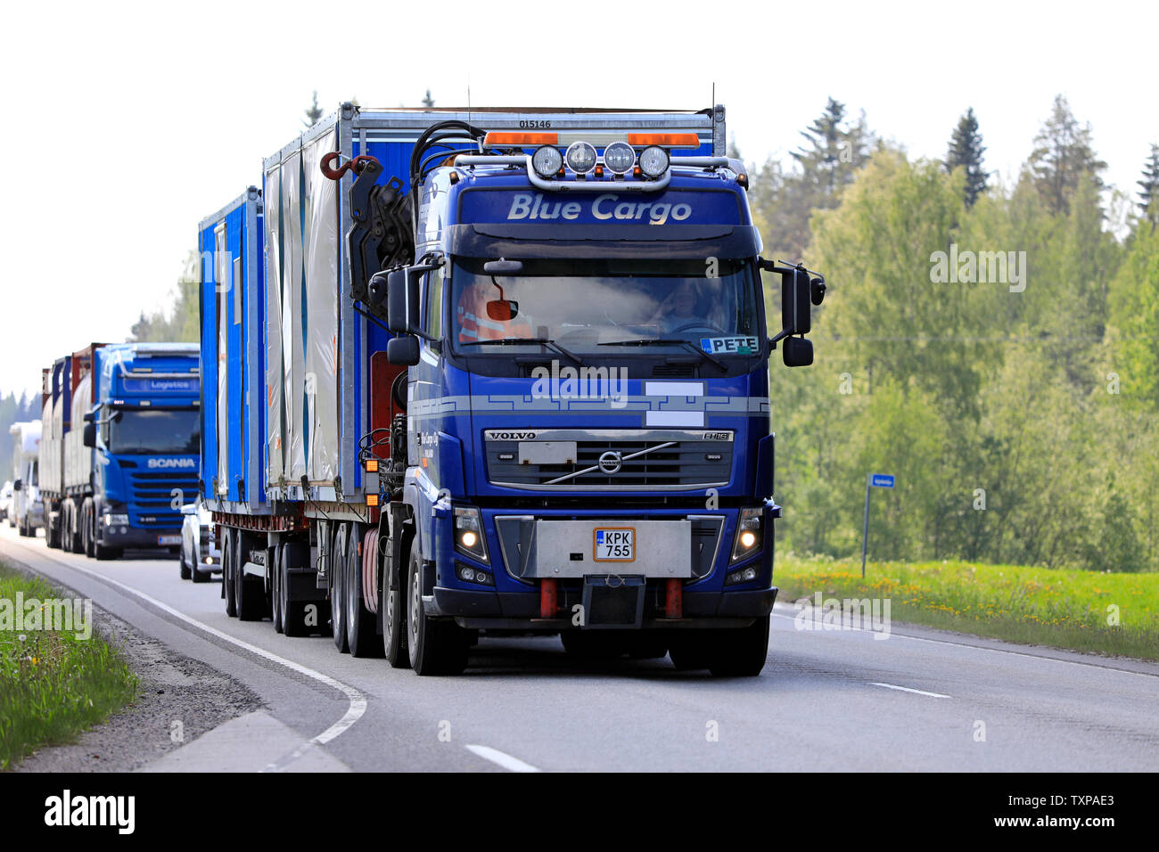 Volvo Fh16 Stock Photos & Volvo Fh16 Stock Images - Alamy