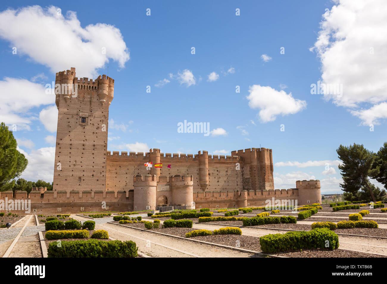Castillo De La Mota The Castle Of Medina Del Campo In Valladolid