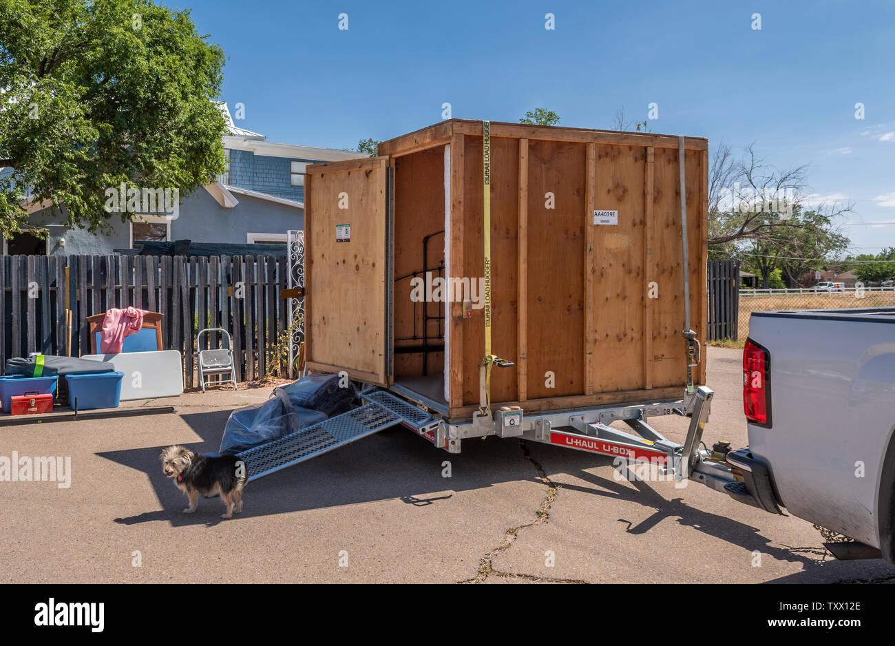 Uhaul pod shipping