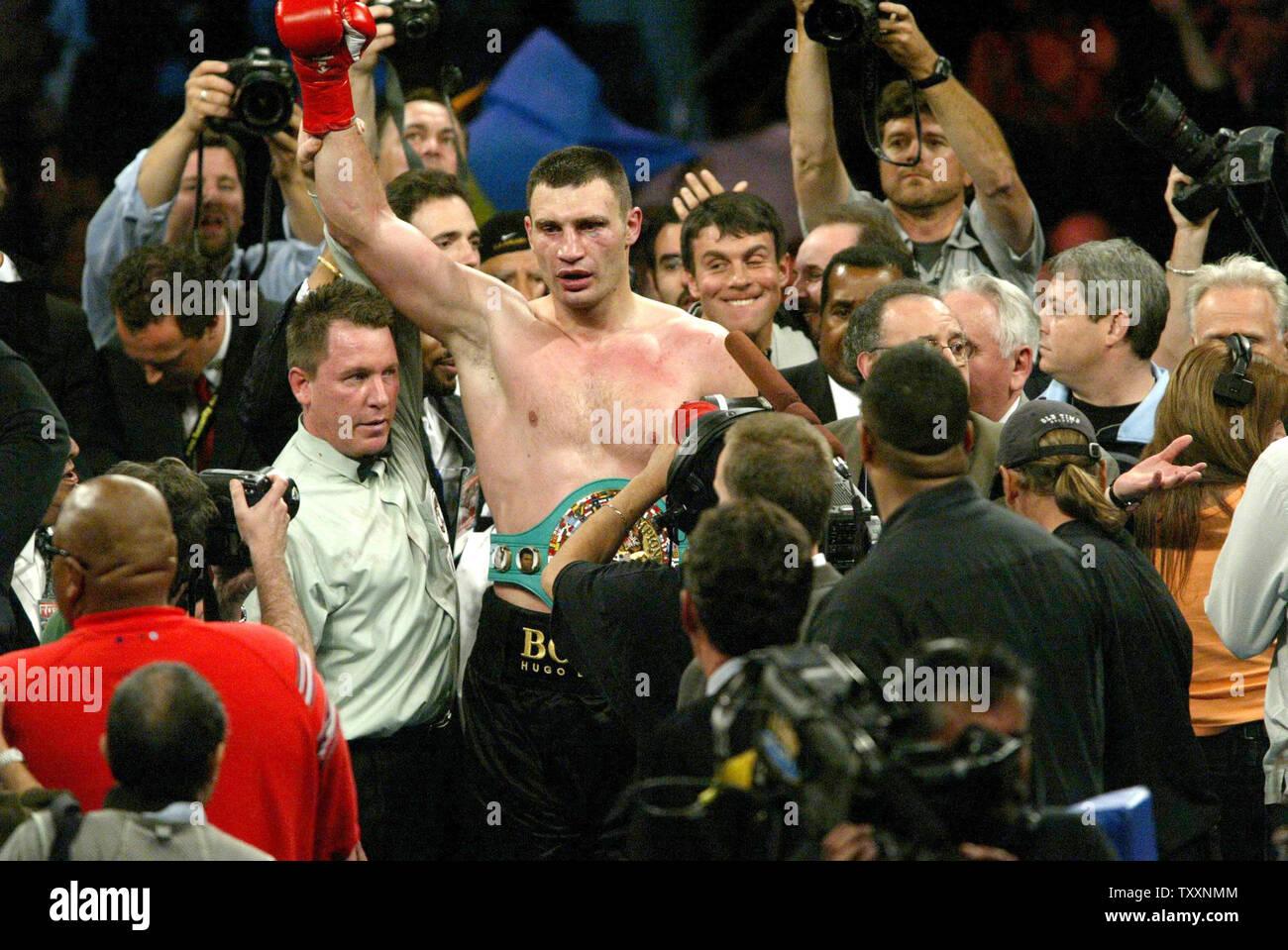 Vitali Klitschko Vs Wladimir Klitschko