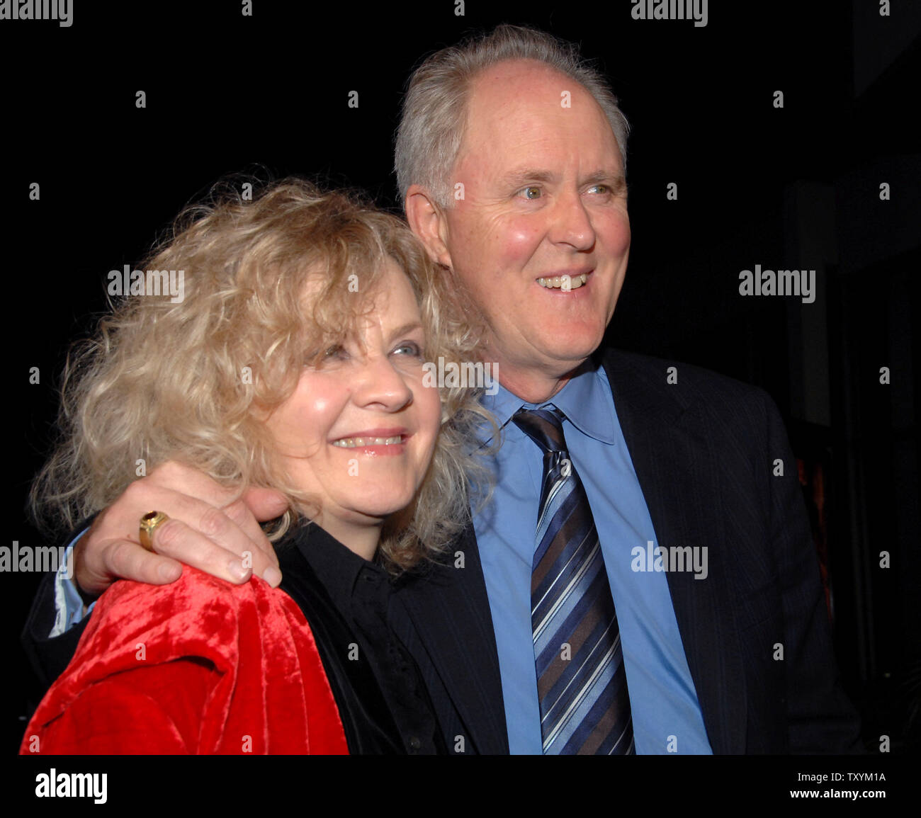 John Lithgow (R), a cast member in the motion picture
