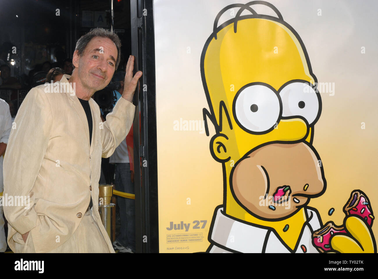 Harry Shearer The Voices Including Mr Burns Ned Flanders Principal Skinner Rev Lovejoy And President Arnold