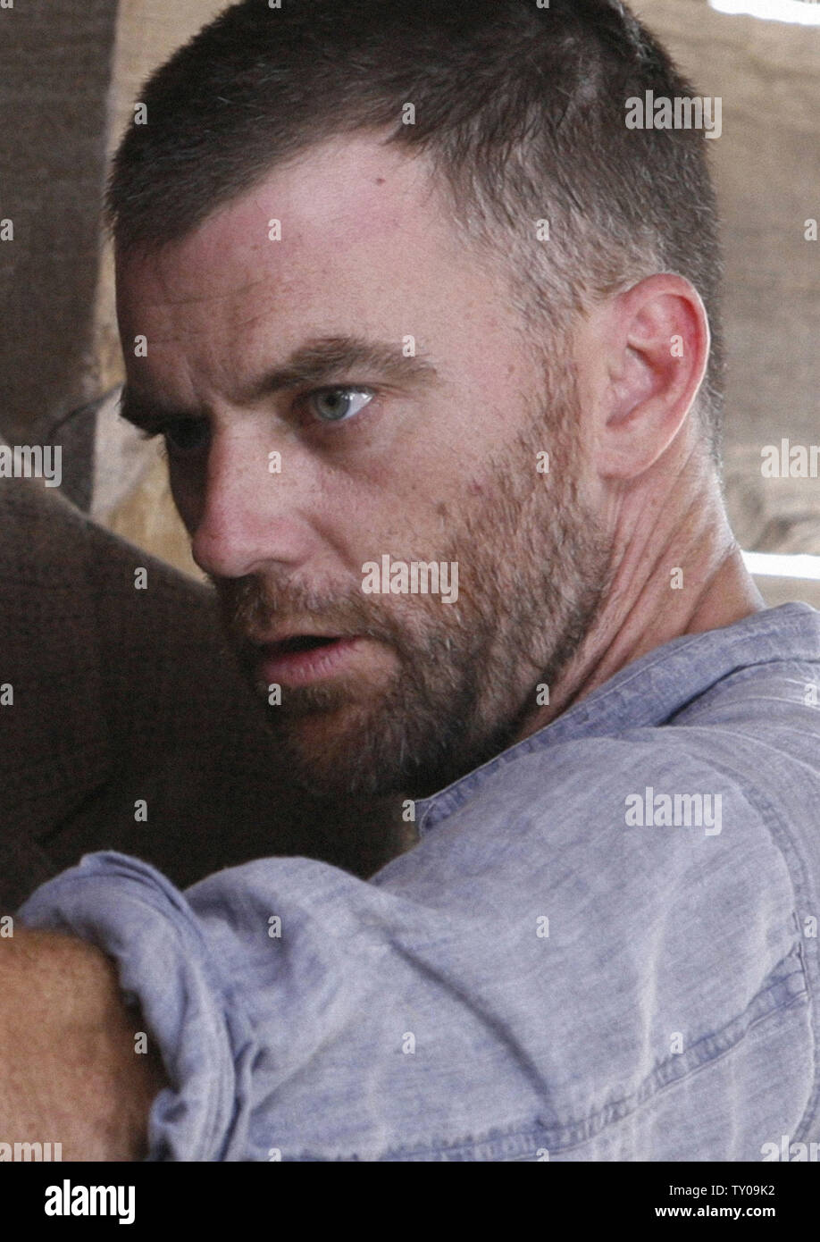 This publicity photo from the film 'There Will Be Blood' provided by the film studios Paramount Vantage and Miramax shows Paul Thomas Anderson, the nominee for best director for the 80th annual Academy Awards in Beverly Hills, California early Tuesday morning, January 22, 2008.  (UPI Photo/Melinda Sue Gordon) - Stock Image