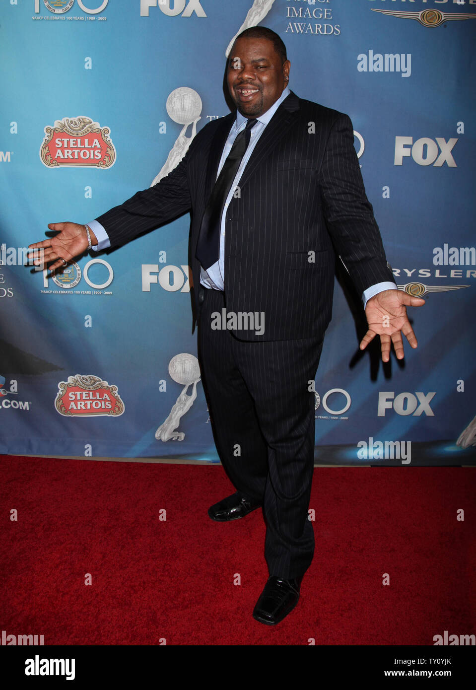 Biz Markie arrives at the 40th NAACP Image Awards post show gala in Los Angeles on February 12, 2009.  The event celebrated the 100th anniversary of the NAACP.   (UPI Photo/David Silpa) - Stock Image