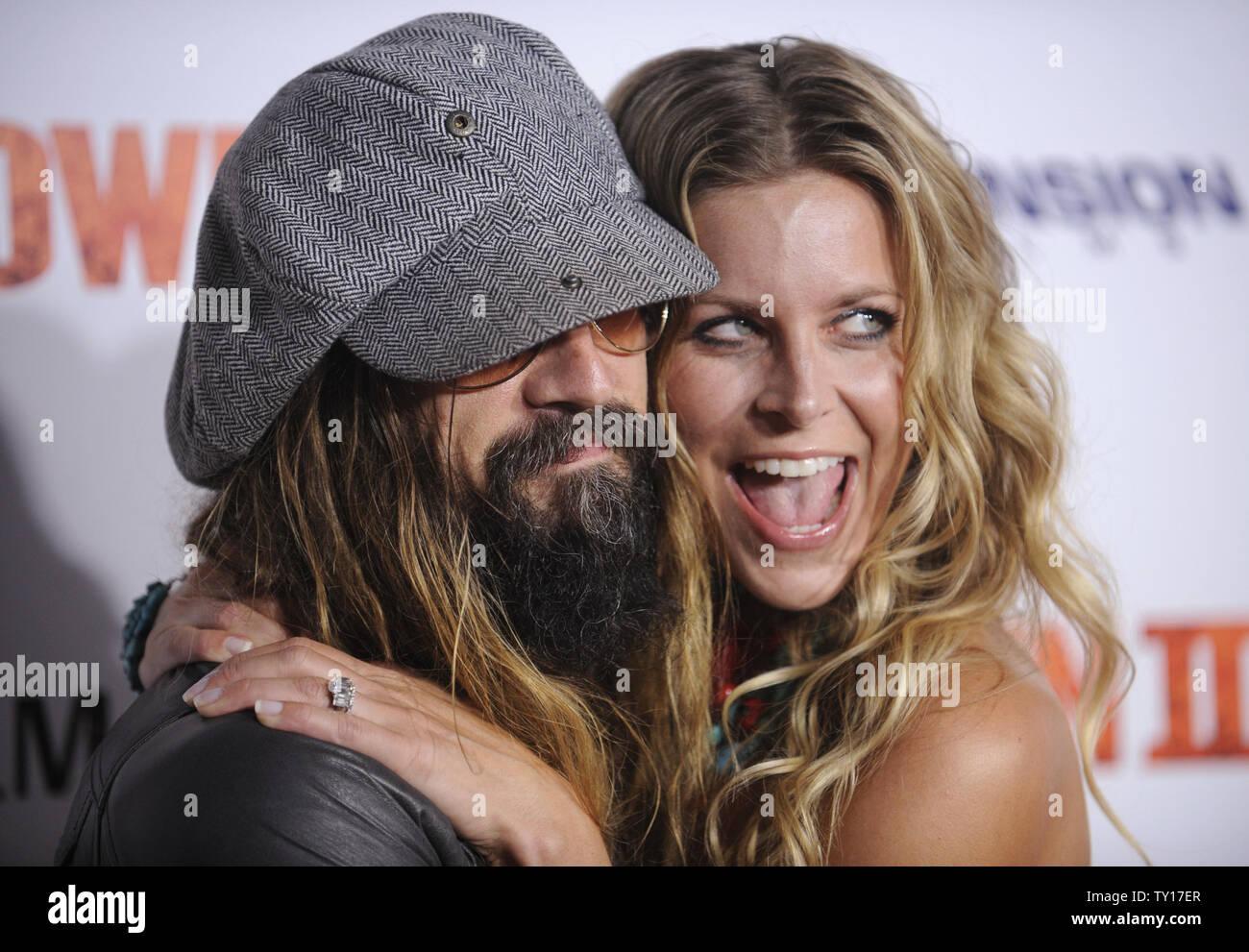 Director Rob Zombie (L) And Cast Member Sheri Moon Zombie (R ...