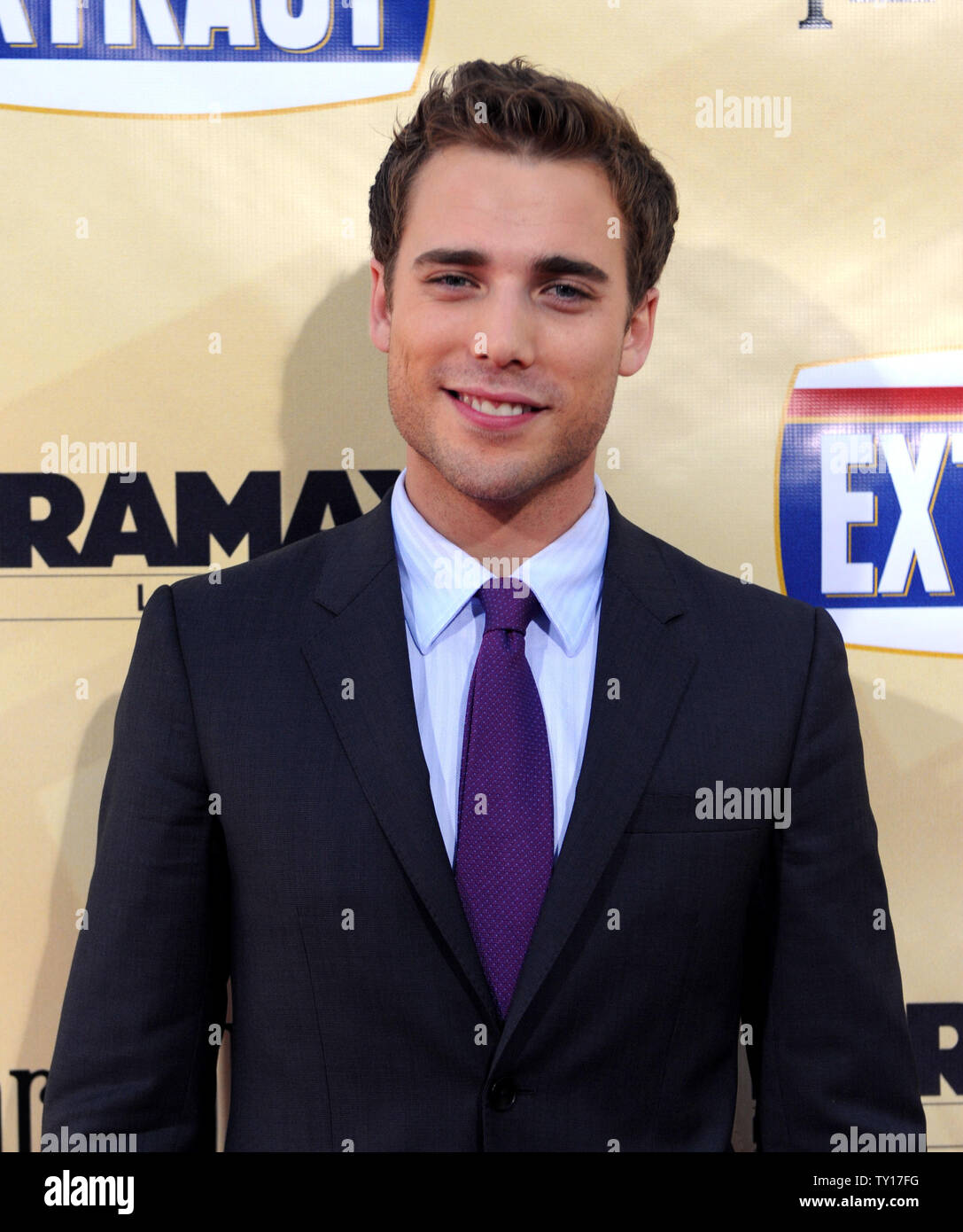 "Dustin Milligan, a cast member in the motion picture comedy ""Extract"", attends the premiere of the film at the Arclight Cinerama Dome in Los Angeles on August 24, 2009.    UPI/Jim Ruymen Stock Photo"