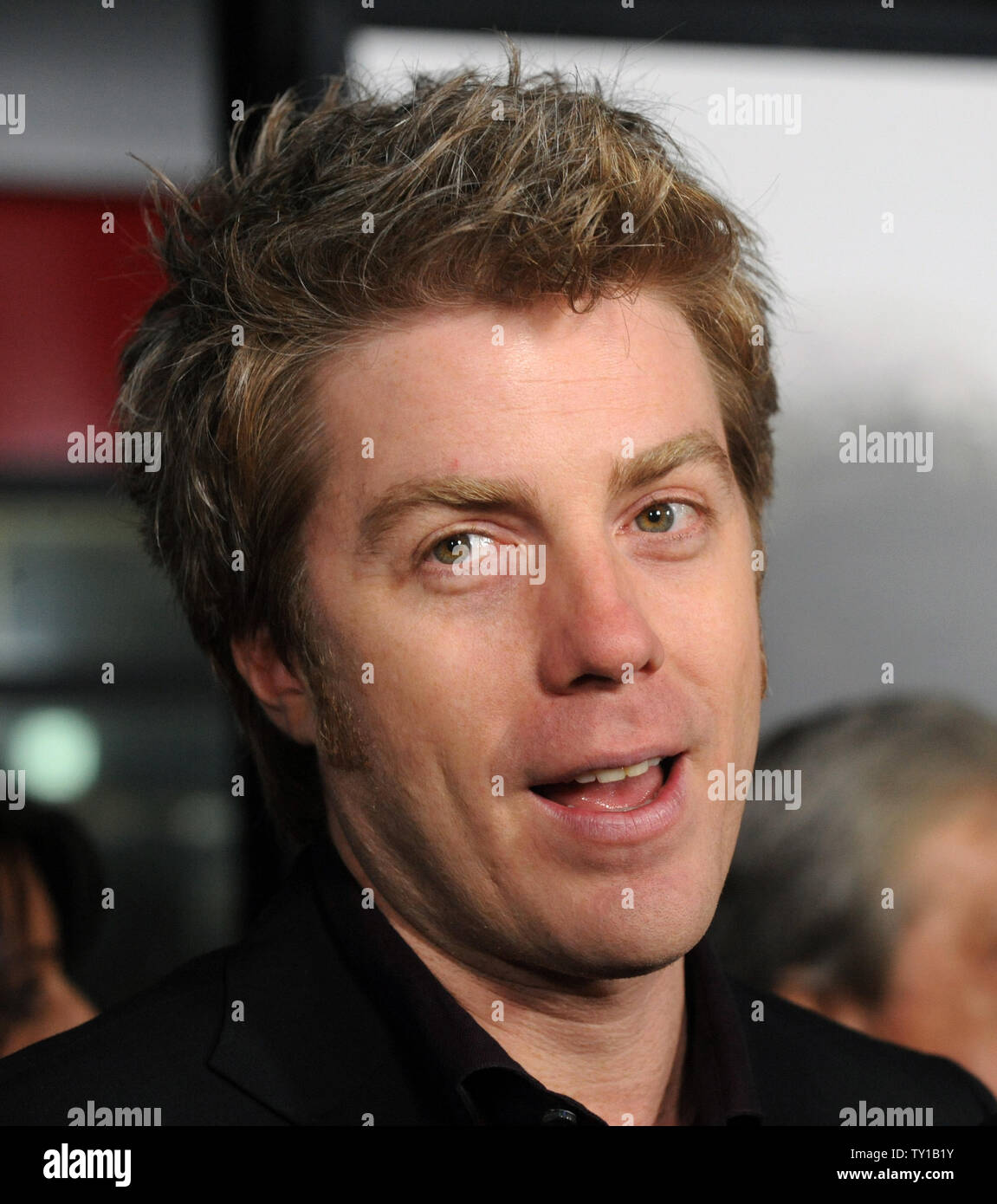 Kyle Eastwood attends Clint Eastwood's new biographic drama motion picture 'Invictus' in Beverly Hills, California on December 3, 2009. Morgan Freeman portrays Nelson Mandela, in his first term as the South African President, initiates a unique venture to unite the apartheid-torn land: enlist the national rugby team on a mission to win the 1995 Rugby World Cup.     UPI/Jim Ruymen - Stock Image