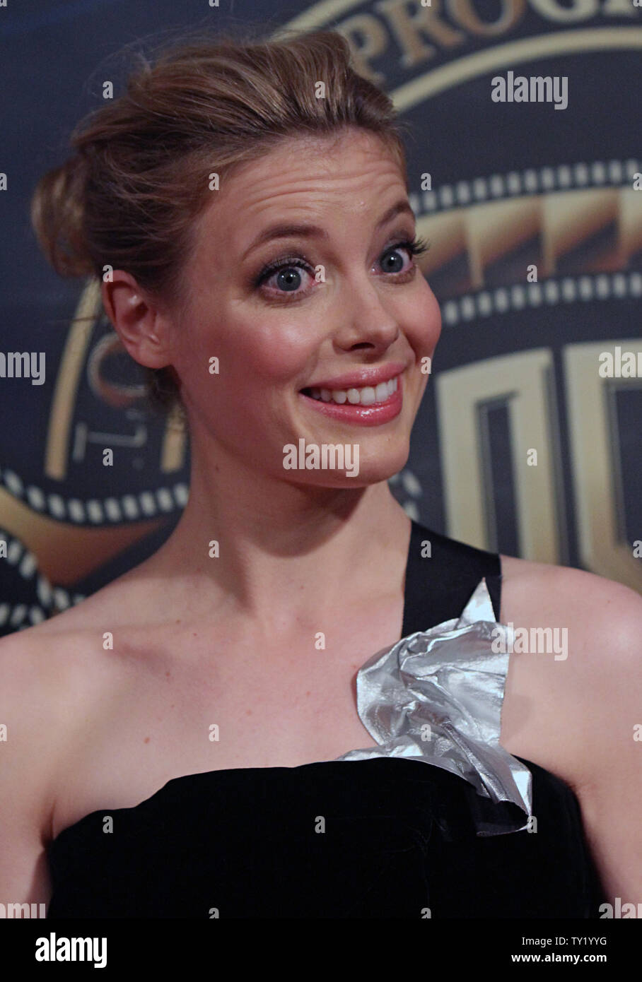 Gillian Jacobs arrives on the red carpet during the 25th annual American Society of Cinematographers Awards in the Hollywood section of Los Angeles on February 13, 2011.   UPI/David Silpa Stock Photo