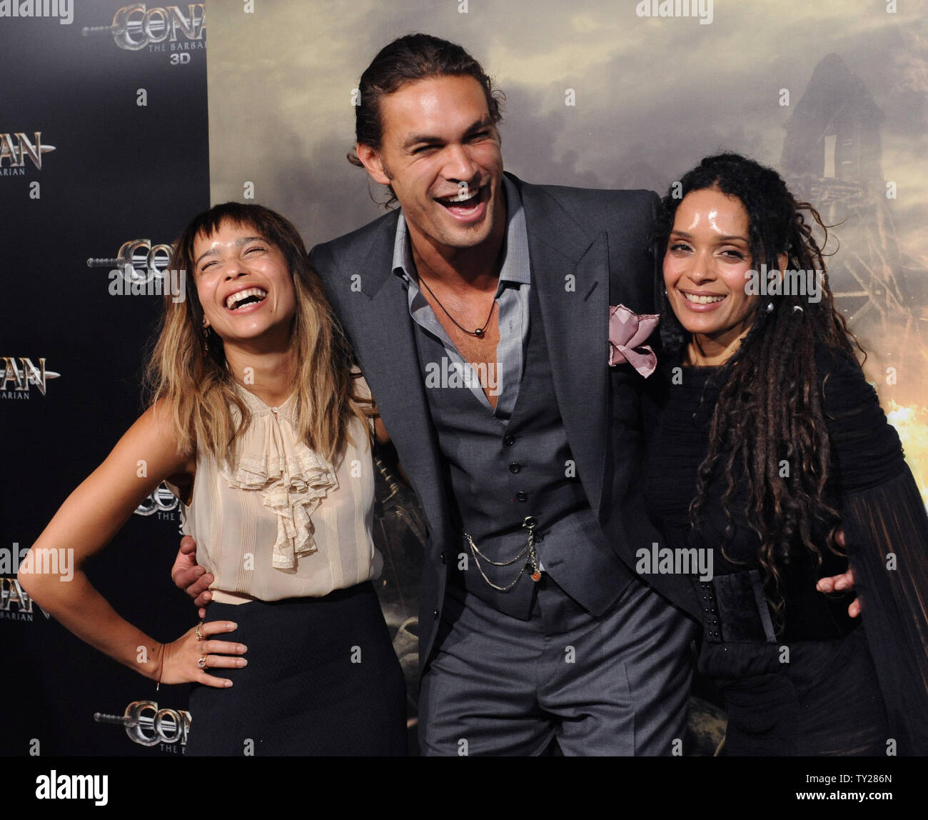 Lisa Bonet And Zoe Kravitz Stock Photos Lisa Bonet And Zoe