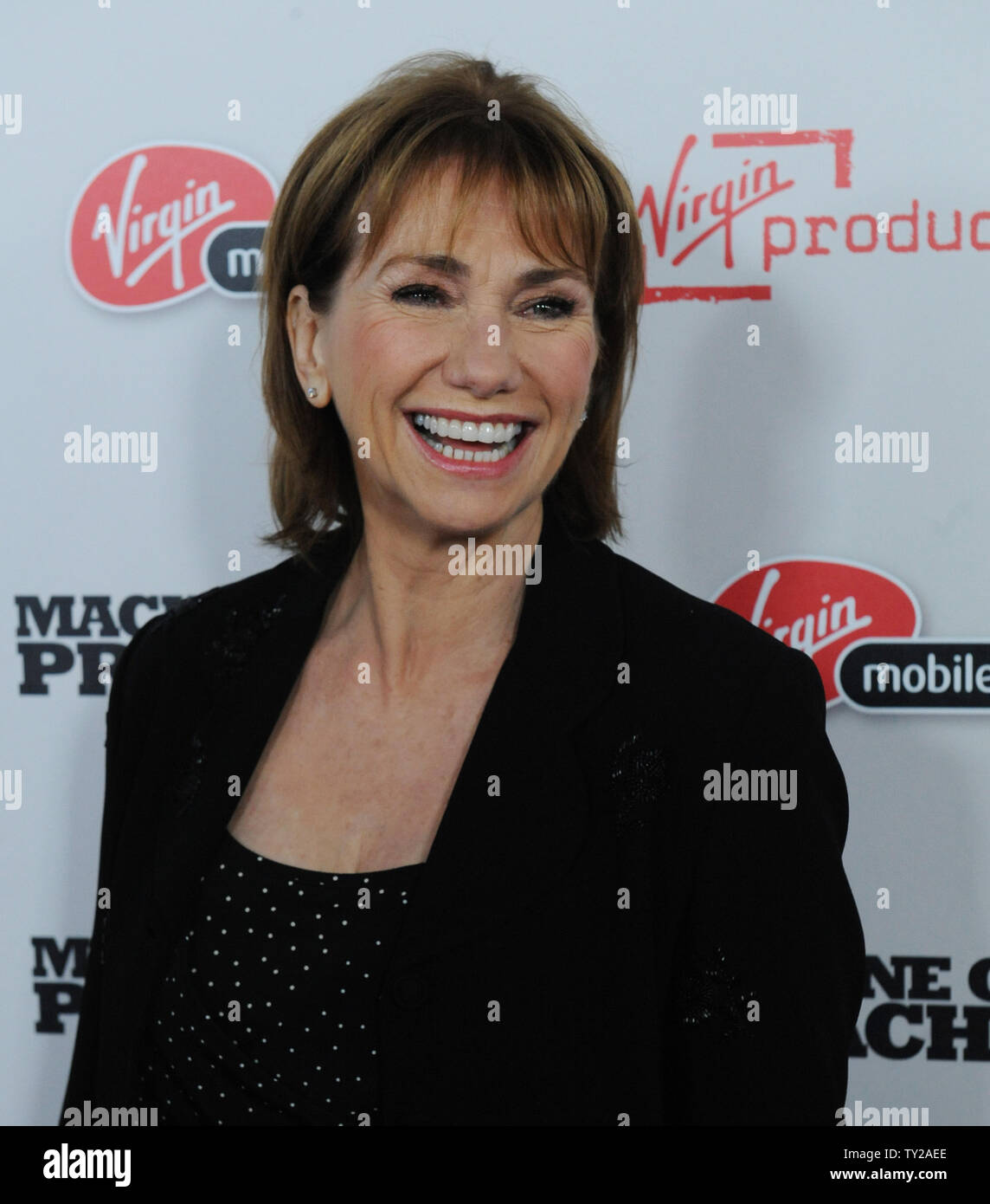 Actress Kathy Baker A Cast Member In The Motion Picture Machine