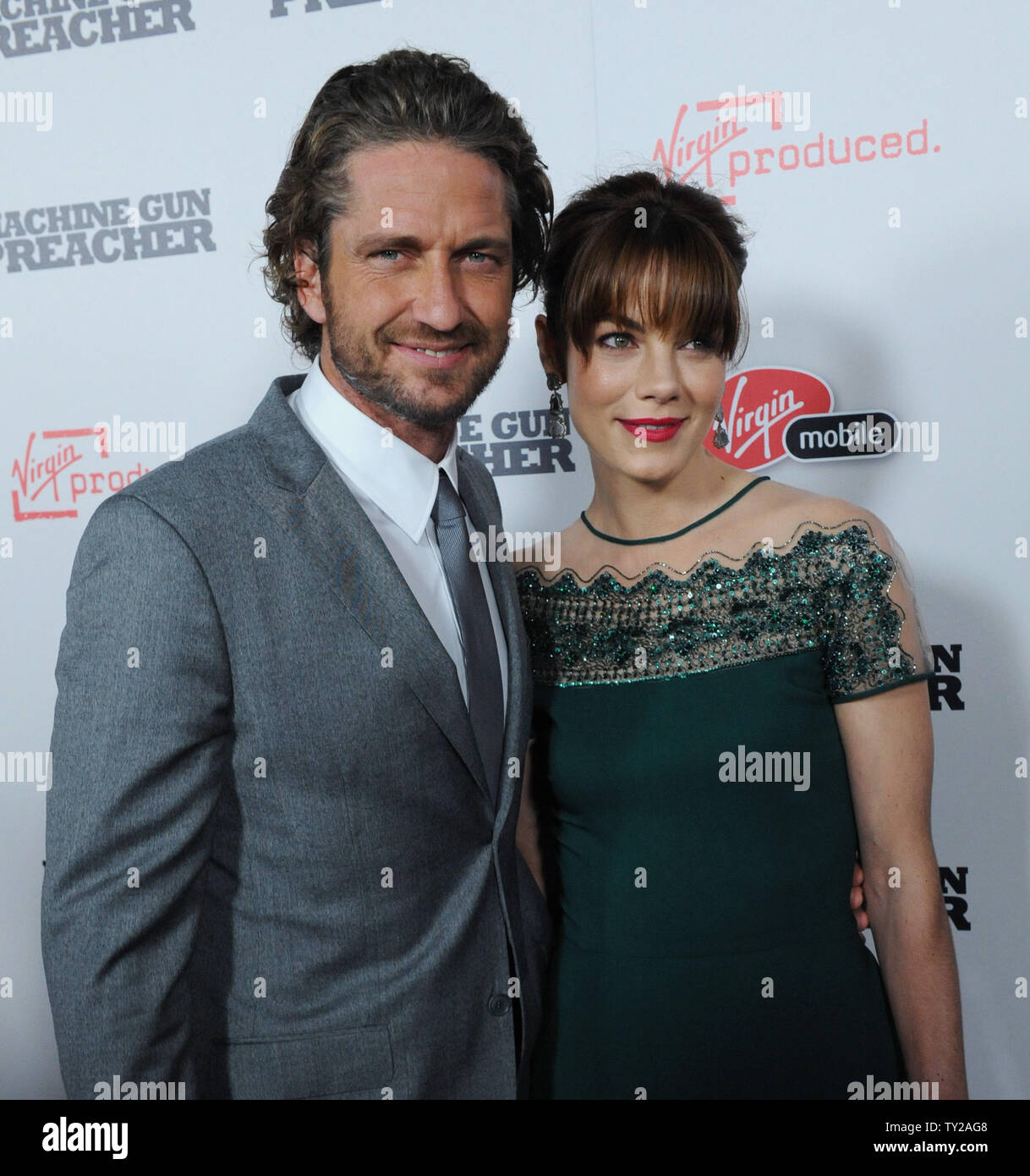 Scotish Actor Gerard Butler And Actress Michelle Monaghan Cast