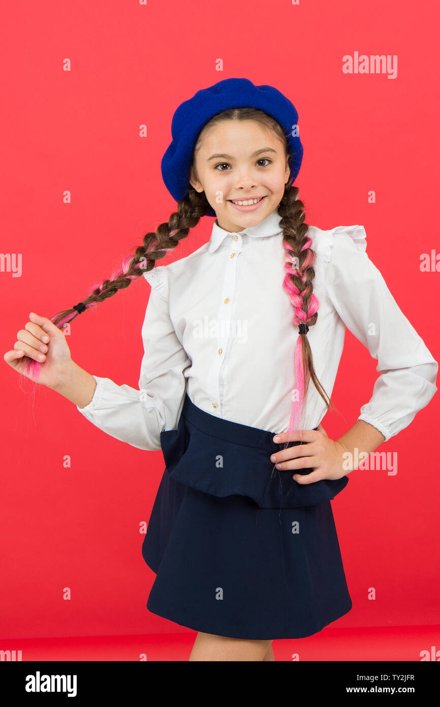 French School Uniform Stock Photos & French School Uniform