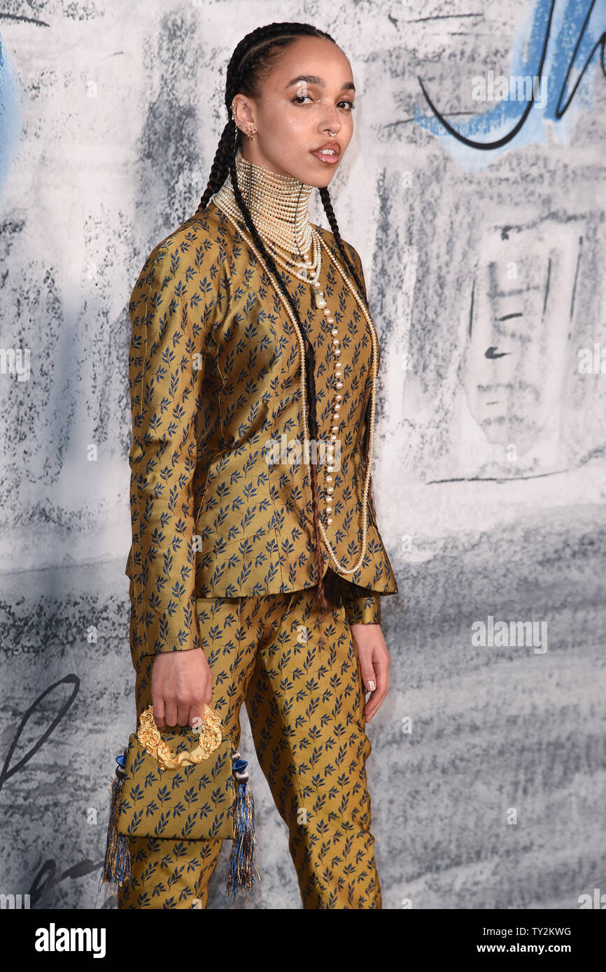 LONDON, UK. June 25, 2019: FKA Twiggs arriving for the Serpentine Gallery Summer Party 2019 at Kensington Gardens, London. Picture: Steve Vas/Featureflash - Stock Image