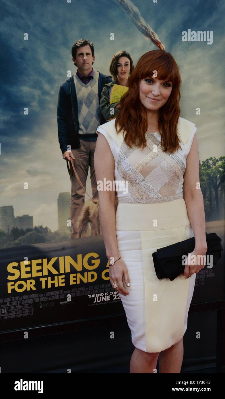 Writer and director Lorene Scafaria attends the premiere of
