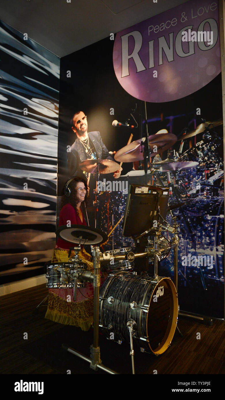Ringo Starr Drums High Resolution Stock Photography And Images Alamy
