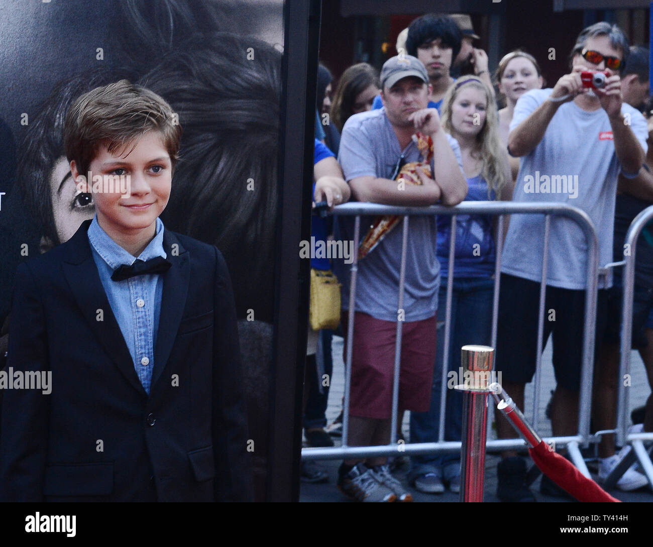 Cast Member Ty Simpkins Attends The Premiere Of The Motion Picture Horror Thriller Insidious Chapter 2 At Universal Citywalk In Universal City On September 10 2013 The Haunted Lambert Family Seeks To