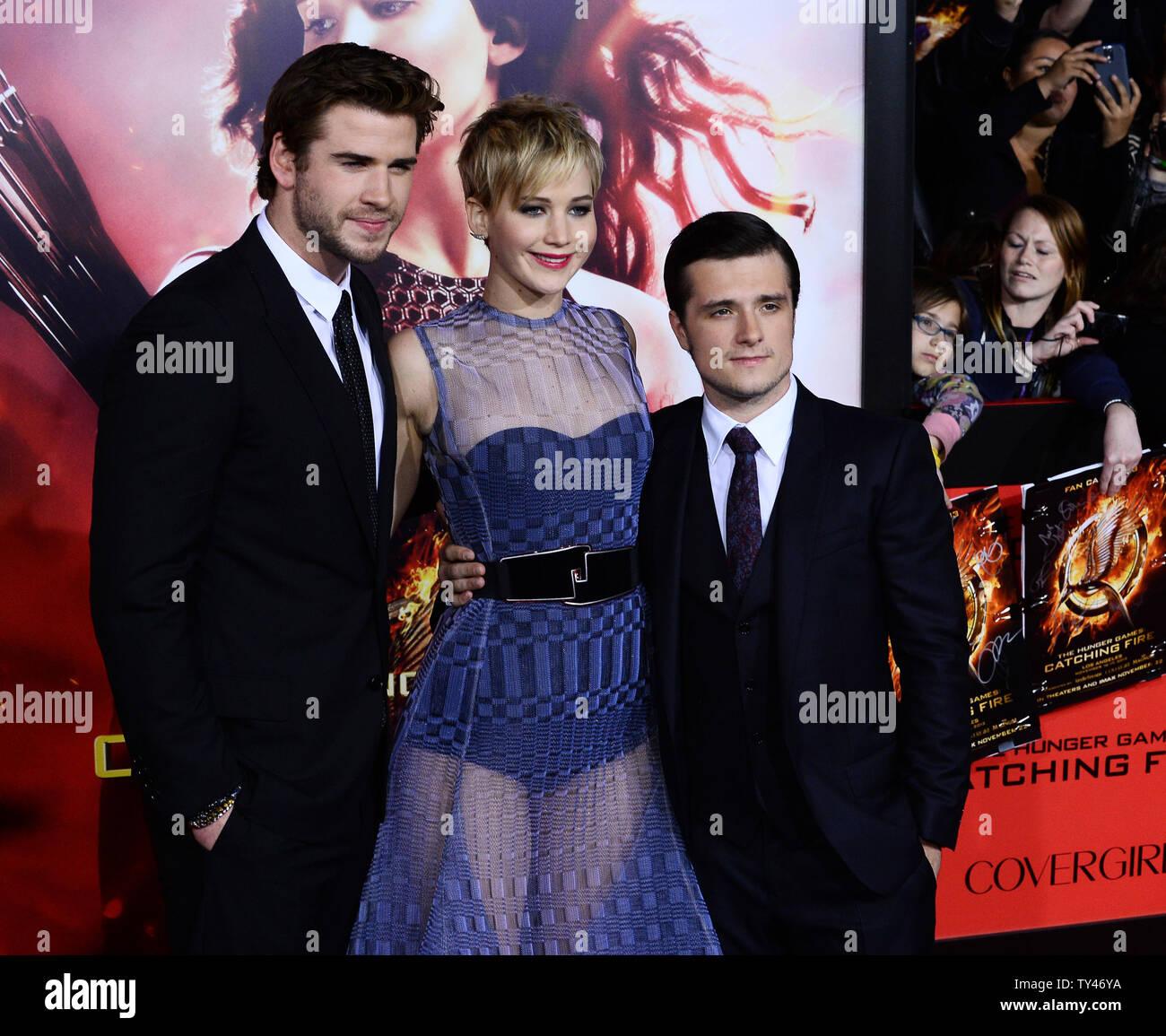 Katniss Everdeen Jennifer Lawrence Peeta Mellark Josh