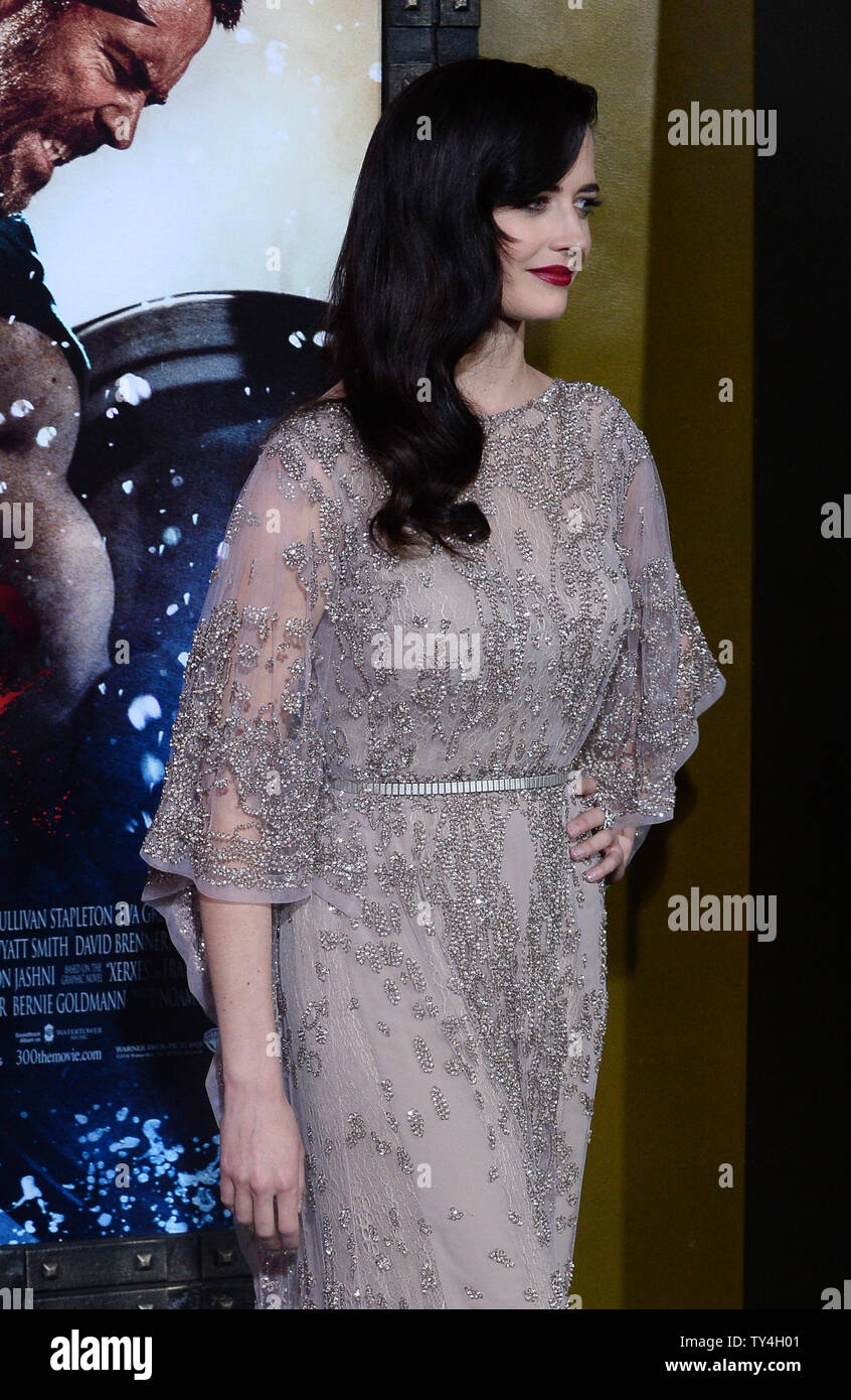 Actress Eva Green attends the premiere of the motion picture