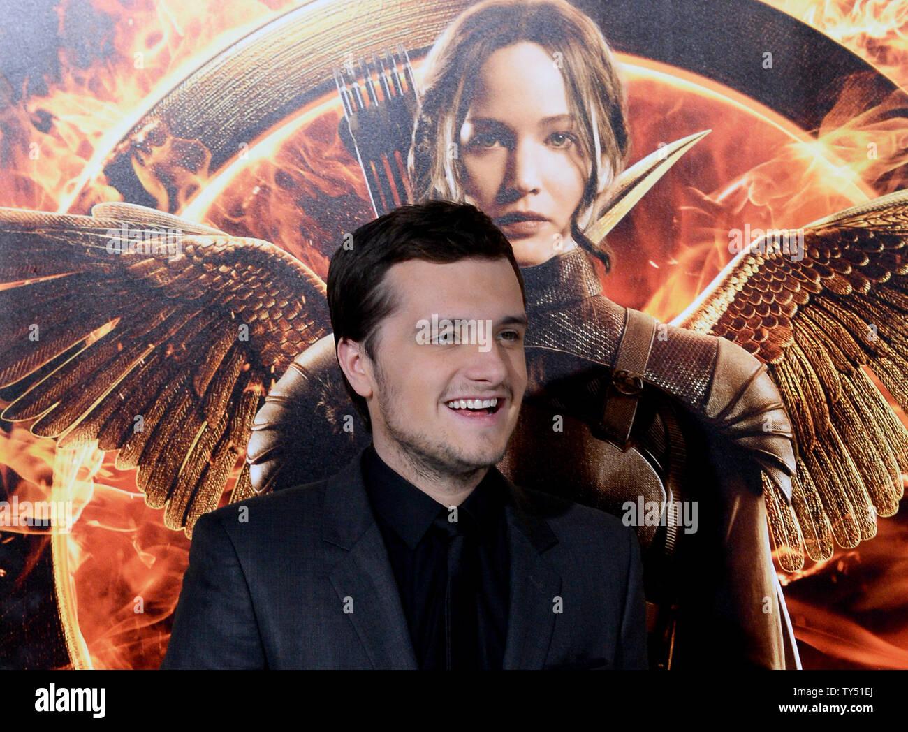 Actor Josh Hutcherson Attends The Premiere Of The Sci Fi Motion