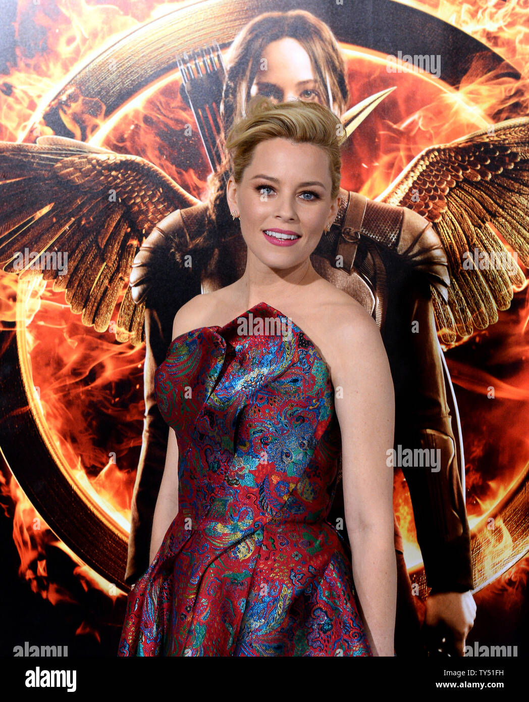 Actress Elizabeth Banks Attends The Premiere Of The Sci Fi Motion
