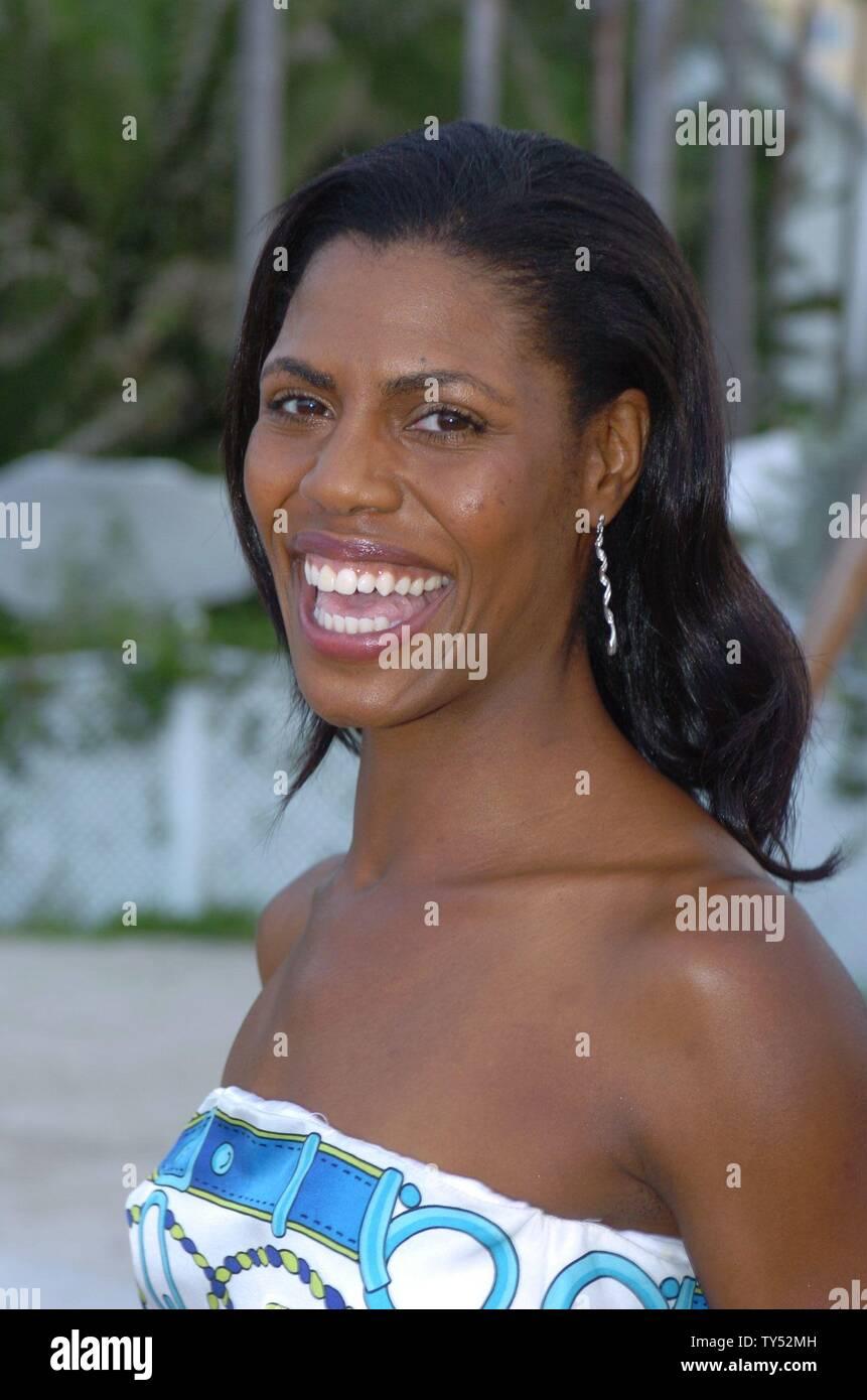 MIAMI BEACH 2004 - EXCLUSIVE COVERAGE Apprentice Omarosa Manigault-Stallworth at the Style Villa Miami Beach, Florida Credit: Storms Media Group/Alamy Live News - Stock Image