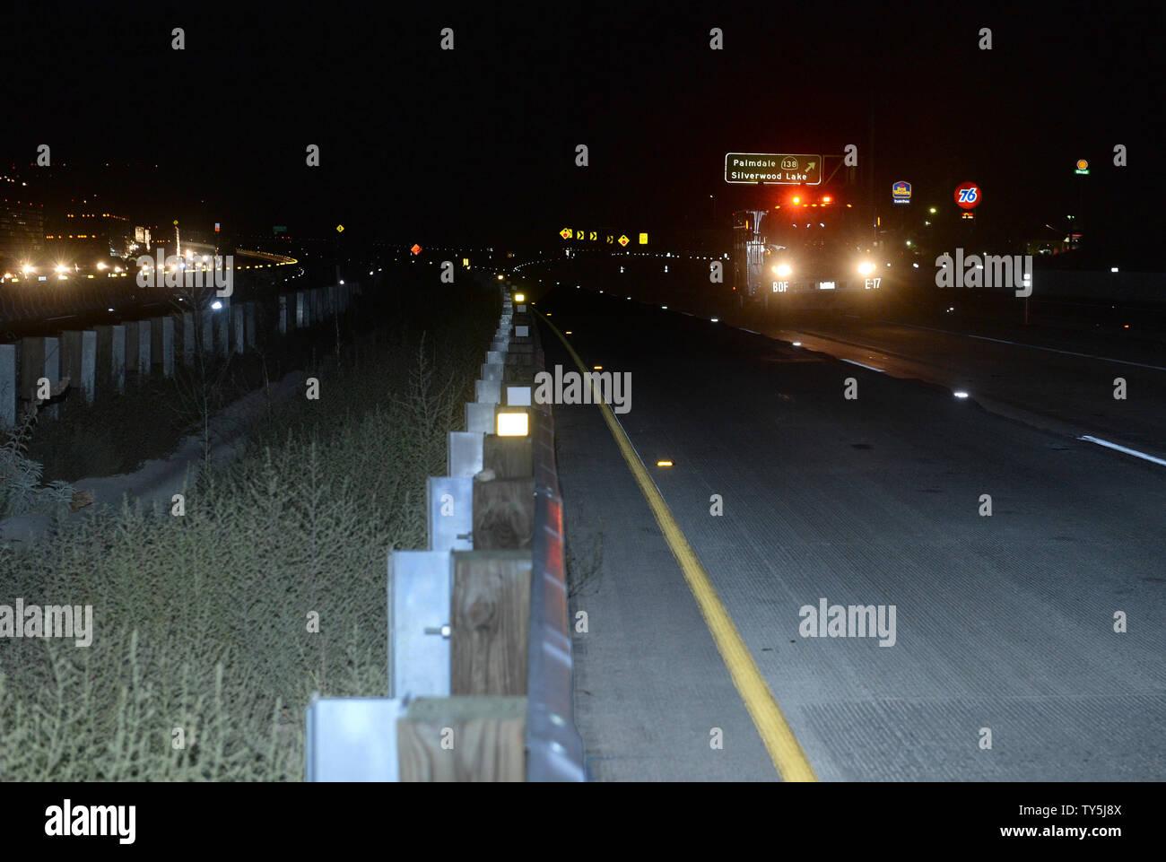 Los Angeles To Las Vegas Freeway Stock Photos & Los Angeles To Las