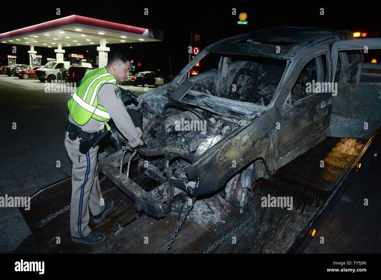 Los Angeles California Highway Patrol Stock Photos & Los Angeles