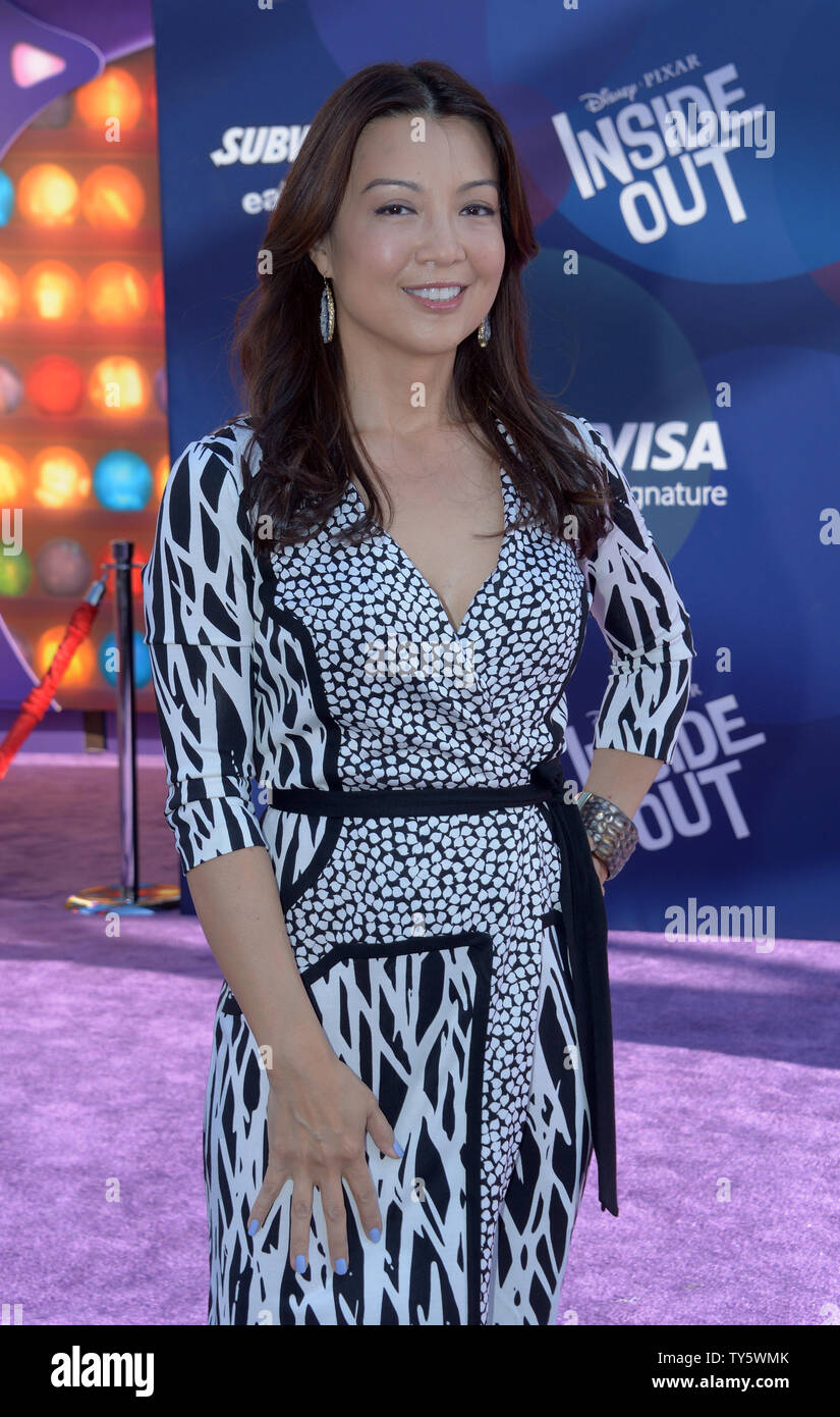 Actress Ming Na Wen attends the premiere of the animated