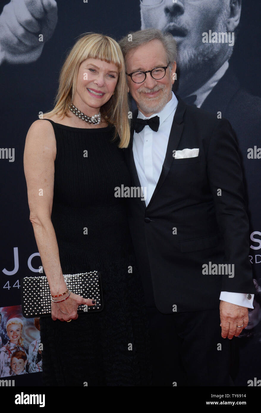 Director Steven Spielberg And His Wife Actress Kate Capshaw Attend American Film Institute S 44th Life Achievement Award Gala Tribute To Composer John Williams At The Dolby Theatre In The Hollywood Section Of