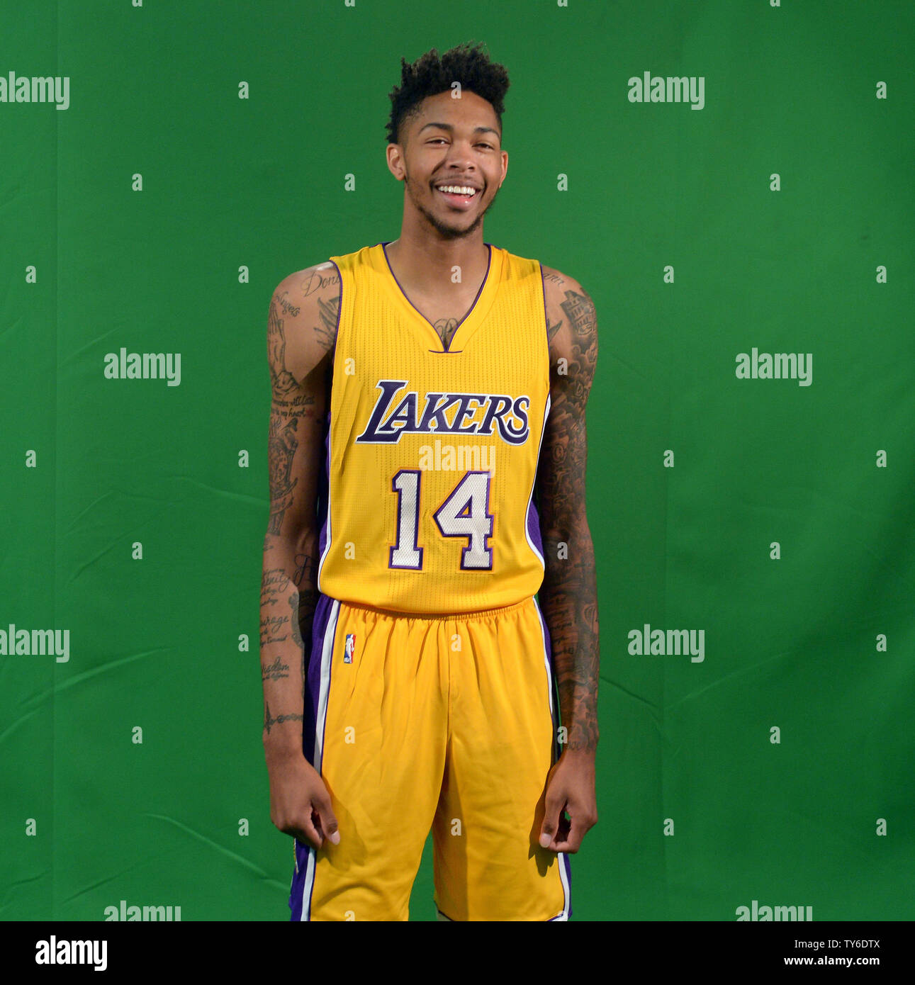 new concept b503b a2947 Los Angeles Lakers' Brandon Ingram participates in Laker ...