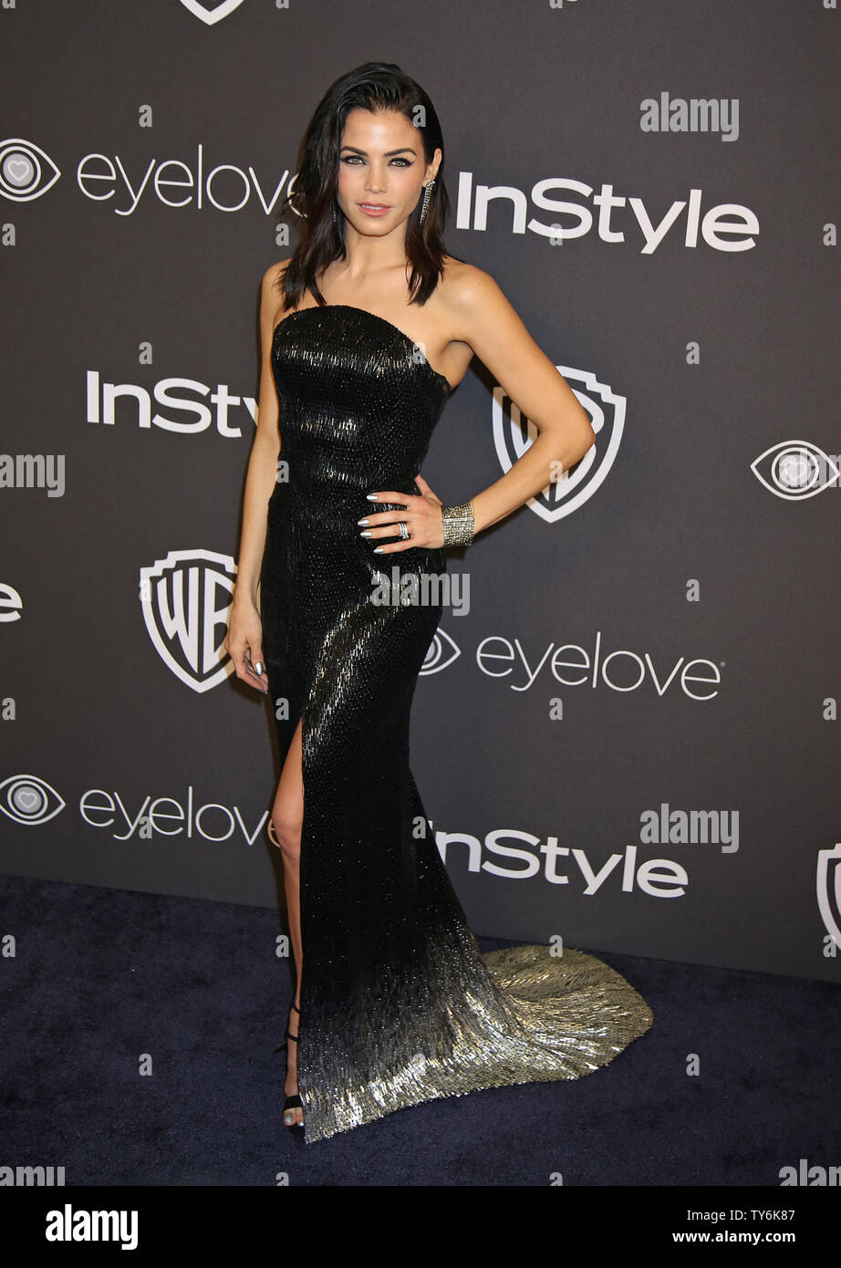 Jenna Dewan Tatum attends the 18th annual InStyle and Warner Bros. Golden Globe after-party at the Beverly Hilton Hotel in Beverly Hills, California on January 8, 2017.  Photo by David Silpa/UPI - Stock Image