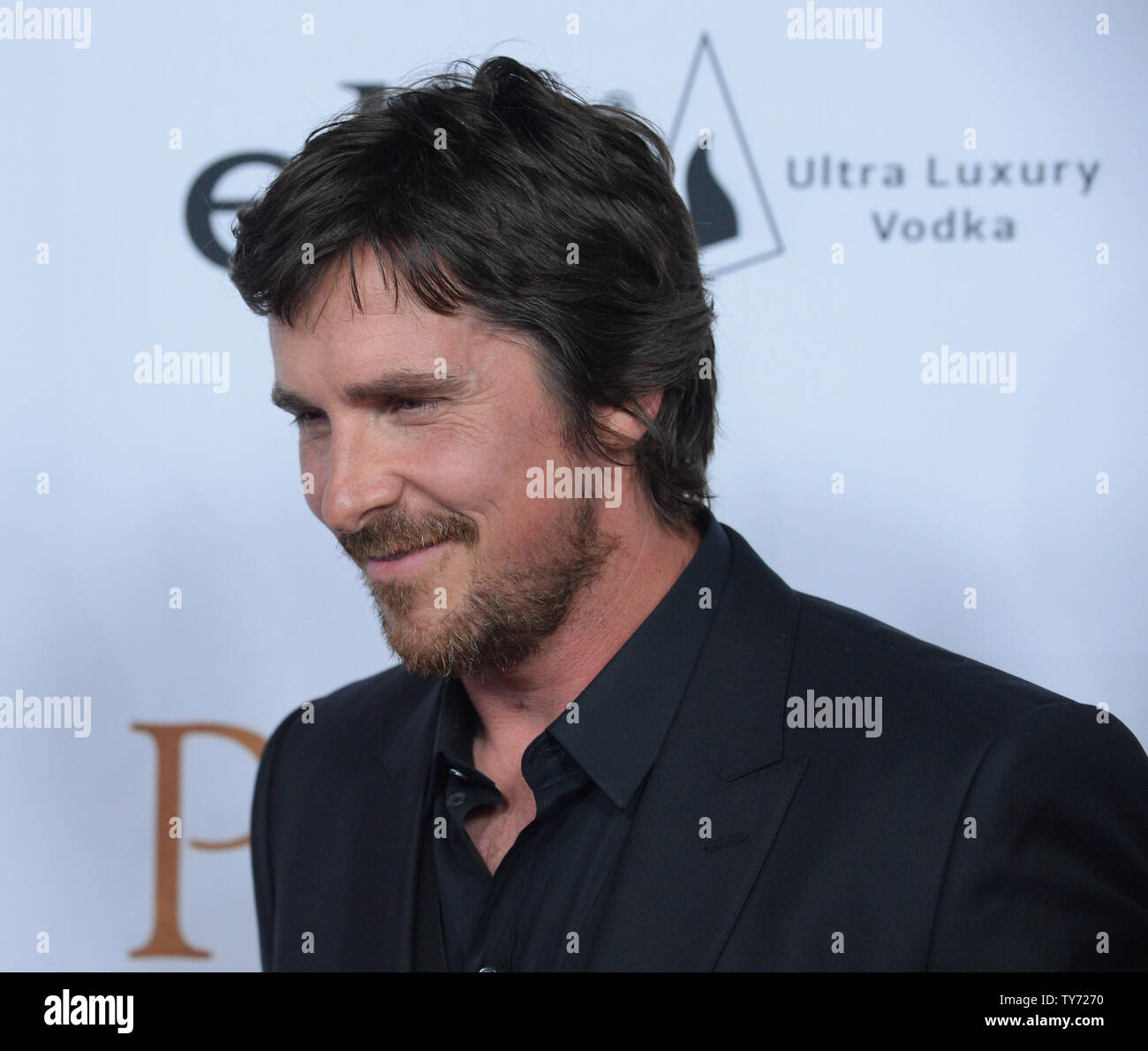 Cast member Christian Bale attends the premiere of the
