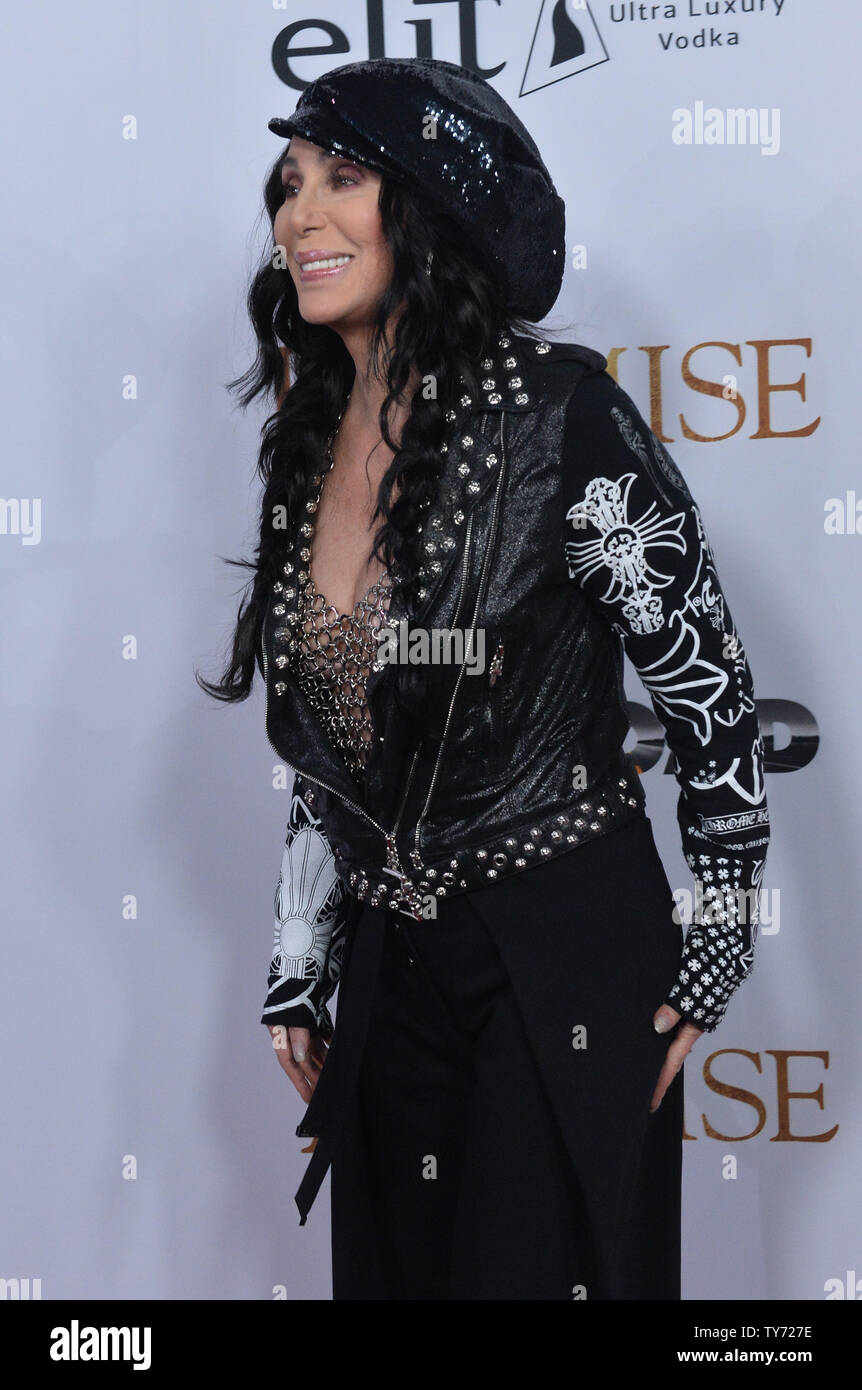 Singer and actress Cher attends the premiere of the motion