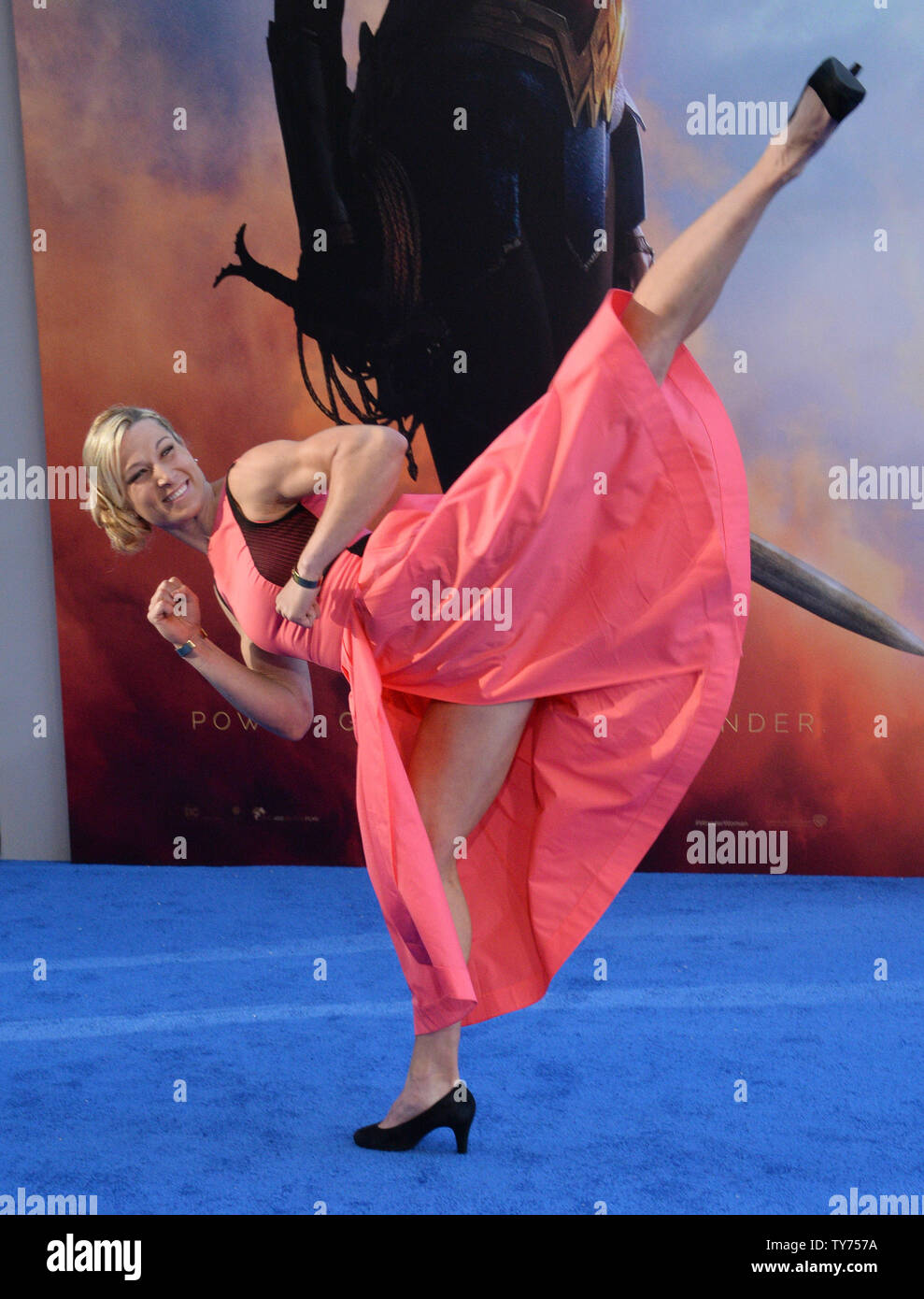 Jessie Graff High Resolution Stock Photography And Images Alamy