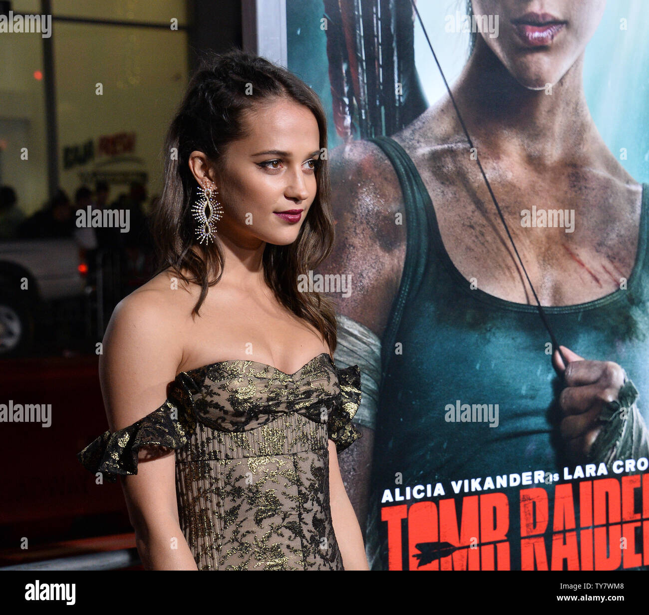 Cast Member Alicia Vikander Attends The Premiere Of The Motion
