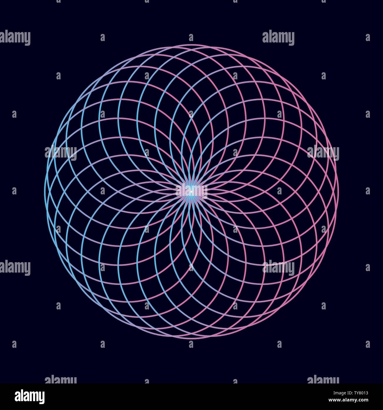Sacred Geometry Vector Vectors Stock Photos & Sacred Geometry Vector