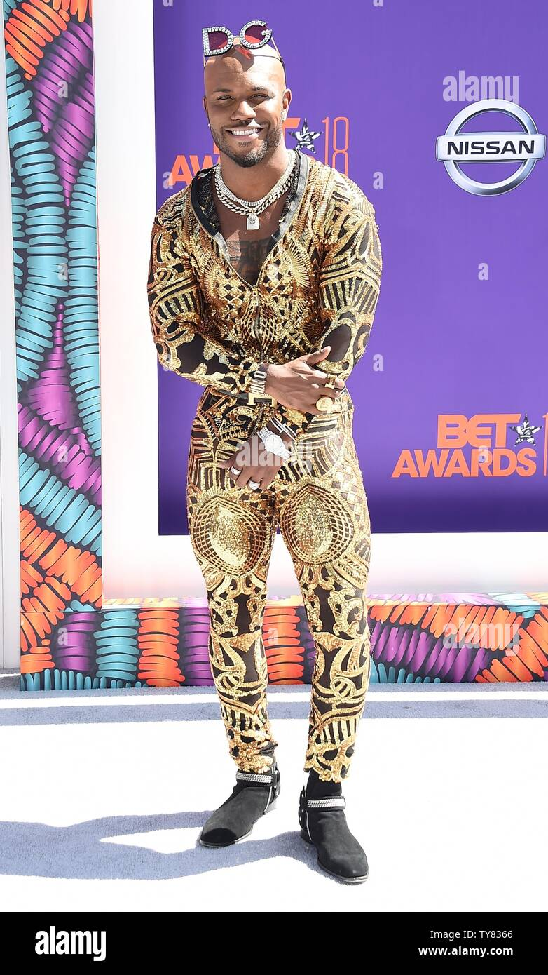Rapper Milan Christopher Attends The 18th Annual Bet Awards At Microsoft Theater In Los Angeles On June 24 2018 The Ceremony Celebrates Achievements In Entertainment And Honors Music Sports Television And Movies