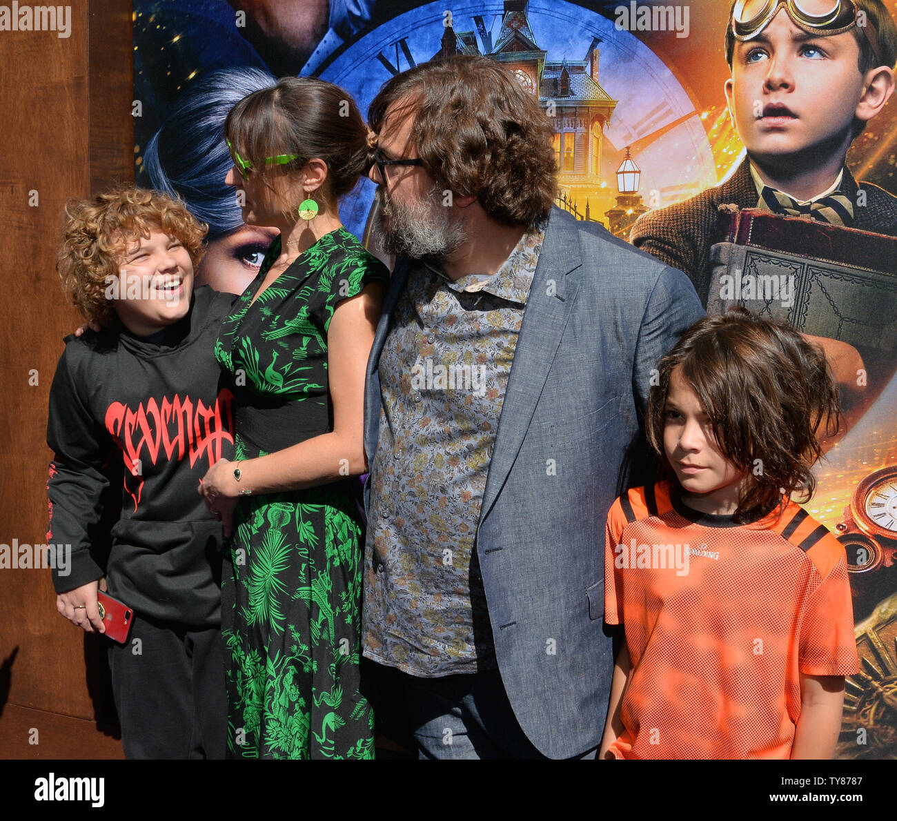 Thomas David Black And Samuel Jason Black High Resolution Stock Photography And Images Alamy Home tracks taska black forever stmpd. https www alamy com cast member jack black and his wife tanya haden and his sons samuel jason black l and thomas david black r attend the premiere of the sci fi motion picture comedy and thriller the house with a clock in its walls at the tcl chinese theatre in the hollywood section of los angeles on september 16 2018 the film tells the story of a young orphan named lewis barnavelt jack black who aids his magical uncle in locating a clock with the power to bring about the end of the world photo by jim ruymenupi image257722199 html