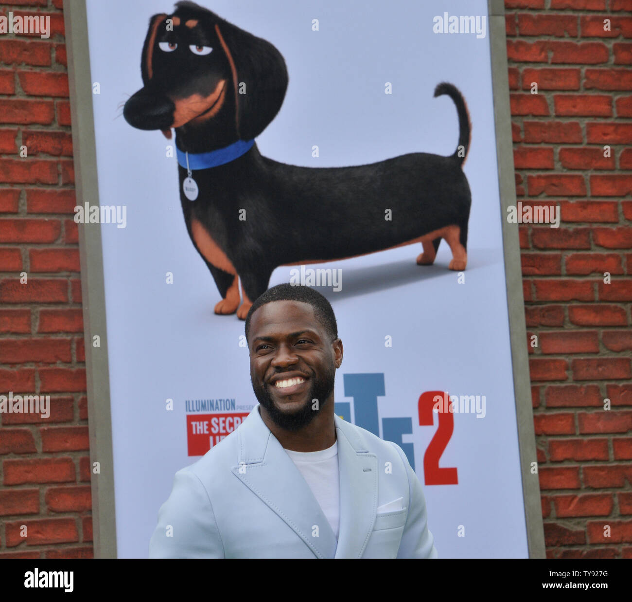Cast Member Kevin Hart The Voice Of Snowball In The Animated Motion Picture Comedy The Secret Life Of Pets 2 Attends The Premiere Of The Film At The Regency Village Theatre In