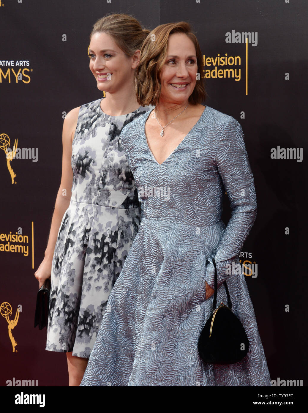 Actresses Zoe Perry And Laurie Metcalf Attend The Creative