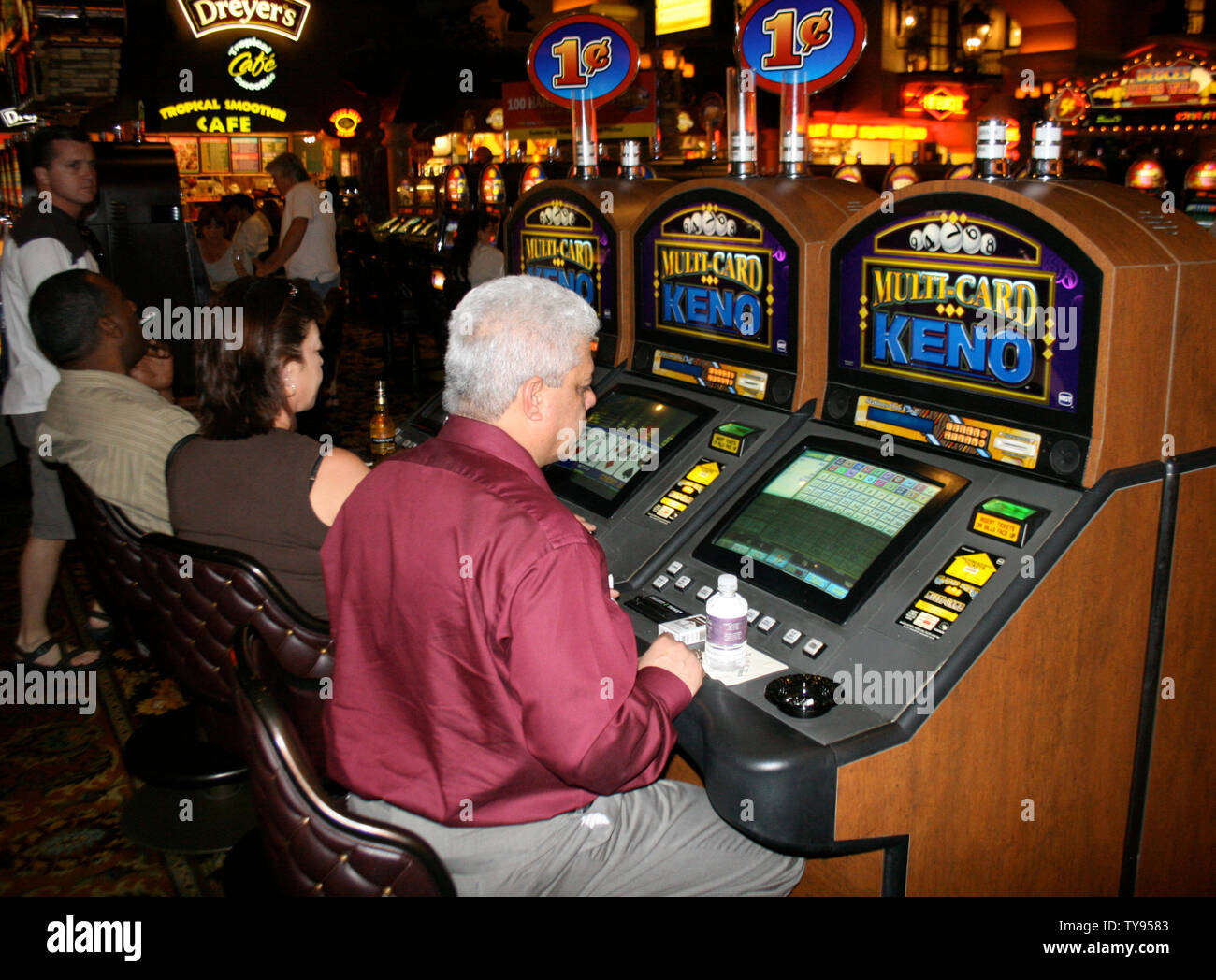 Keno Gambling High Resolution Stock Photography And Images Alamy