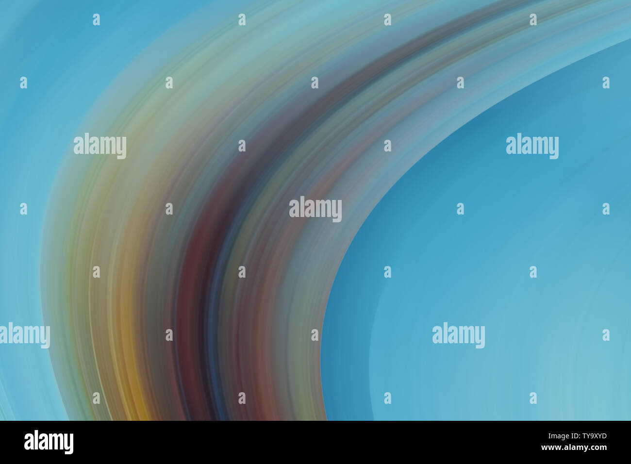 Muted coloured curved multi coloured abstract motion effect blurred background. Blurry abstract design. Pattern can be used for backgrounds, cards, in - Stock Image