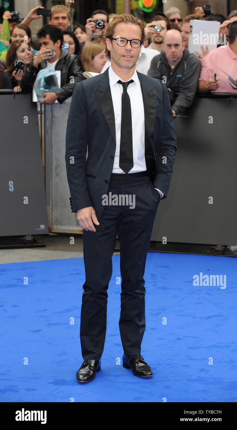 """English-born Australian actor Guy Pearce attends the UK Premiere of """"Prometheus"""" at The Empire Leicester Square in London on May 31, 2012.     UPI/Paul Treadway Stock Photo"""