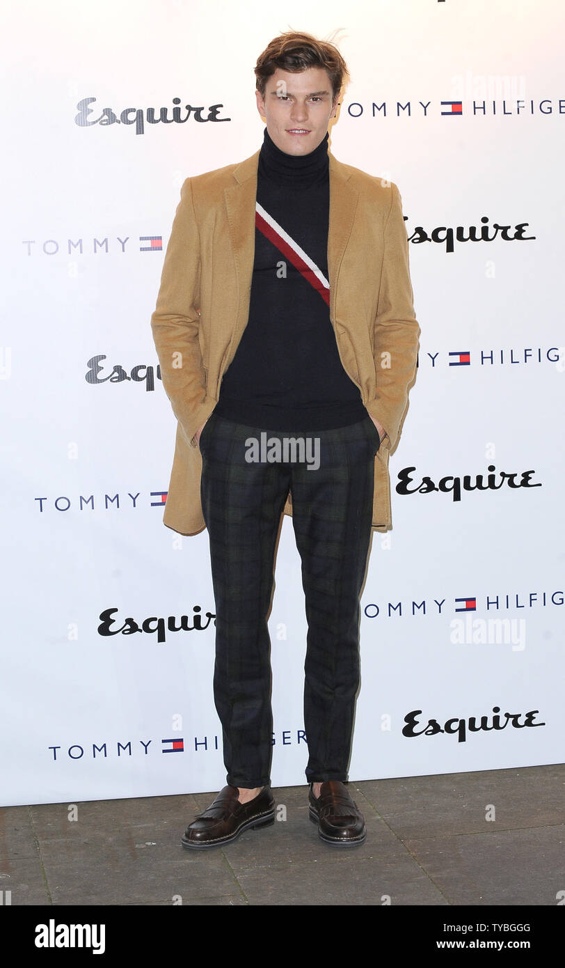 0ca232cc Model Oliver Cheshire attends The Tommy Hilfiger and Esquire Party during London  Collections: Men designer