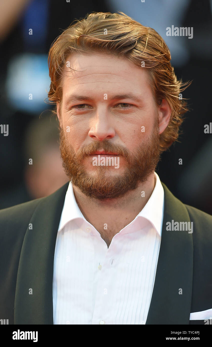 Australian Actor Luke Bracey Attends The Premiere For Hacksaw Ridge During The 73rd Venice Film Festival In Venice On September 4 2016 Photo By Paul Treadway Upi Stock Photo Alamy
