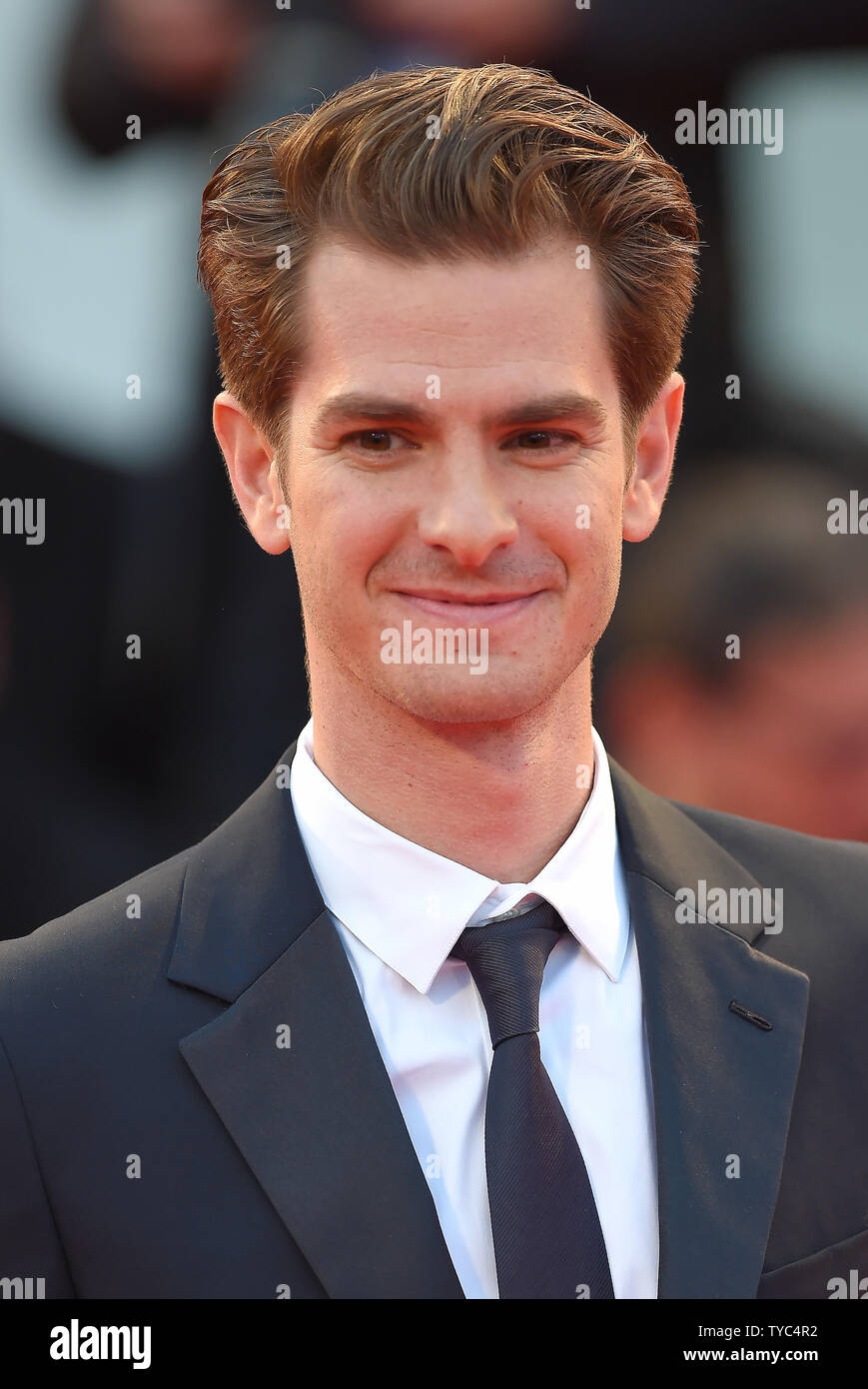 English Actor Andrew Garfield Attends The Premiere For Hacksaw Ridge During The 73rd Venice Film Festival In Venice On September 4 2016 Photo By Paul Treadway Upi Stock Photo Alamy