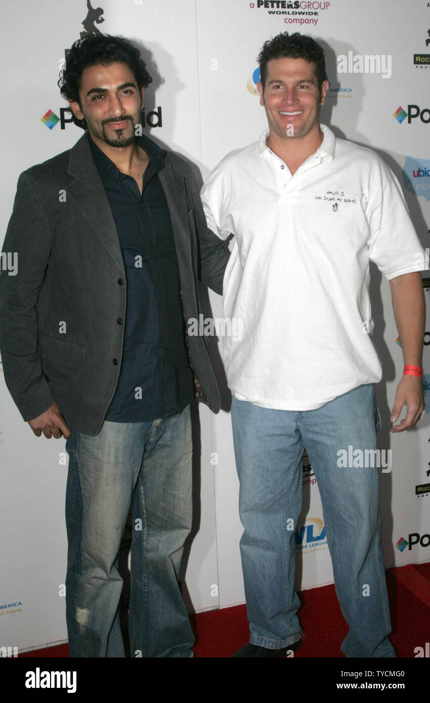 Kaysar Ridha and Howie Gordon of TV's Big Brother 6 appear