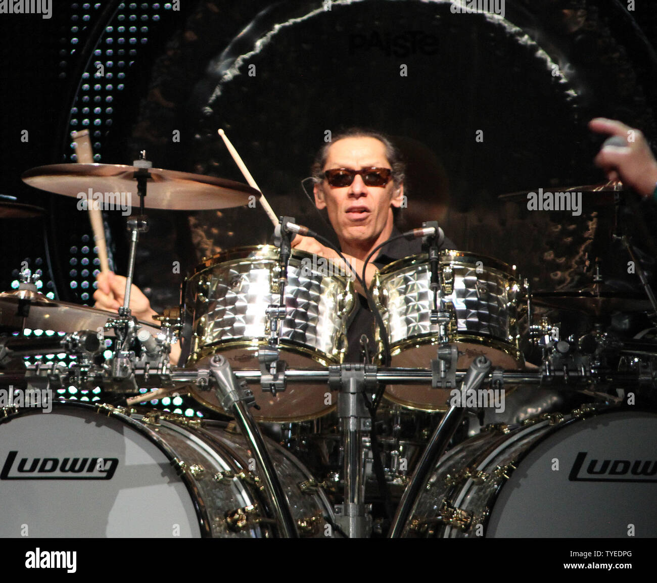 Alex Van Halen With Van Halen Performs In Concert At The Bankatlantic Center In Sunrise Florida On April 10 2012 Upi Michael Bush Stock Photo Alamy